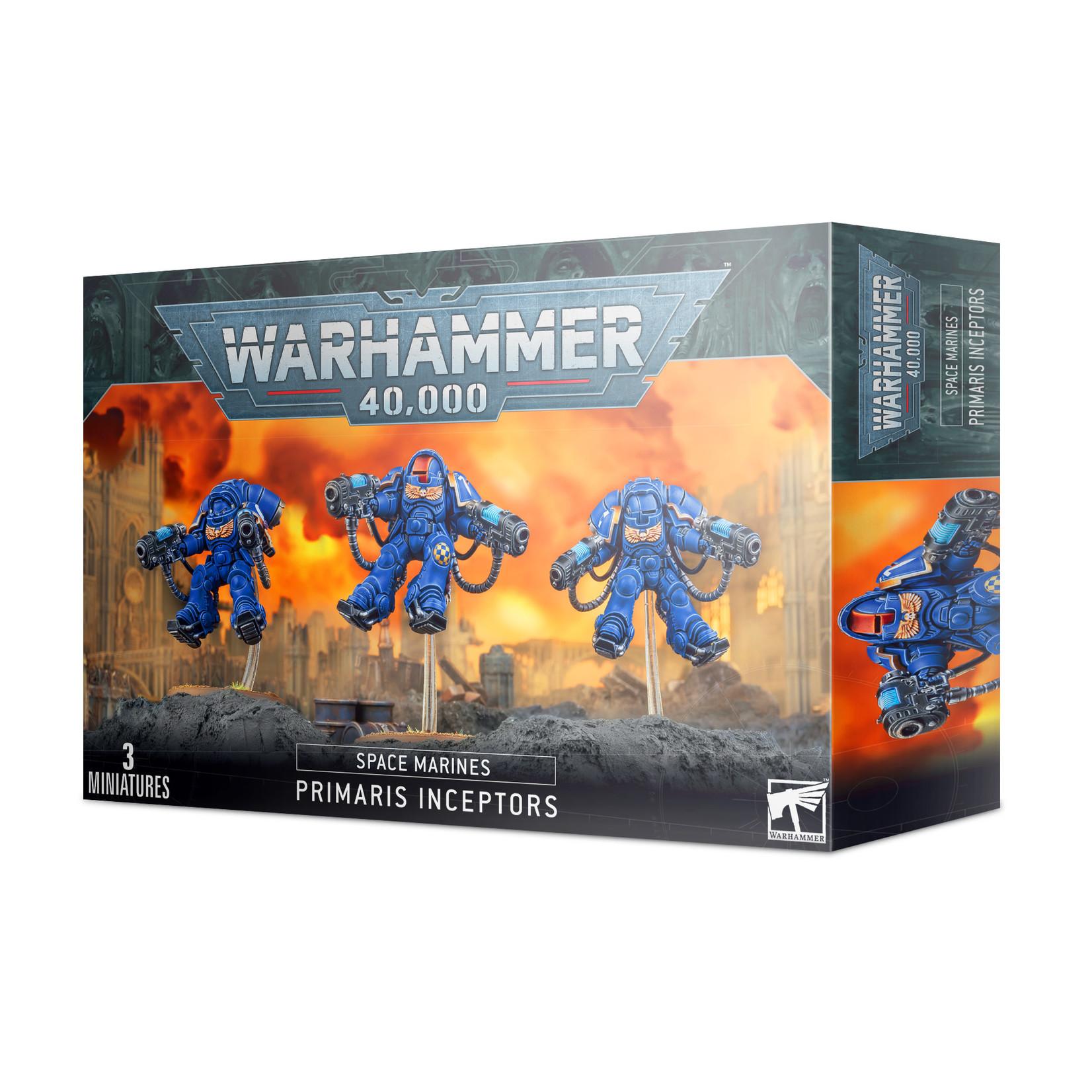 Games Workshop Warhammer 40k: Space Marines - Primaris Inceptors