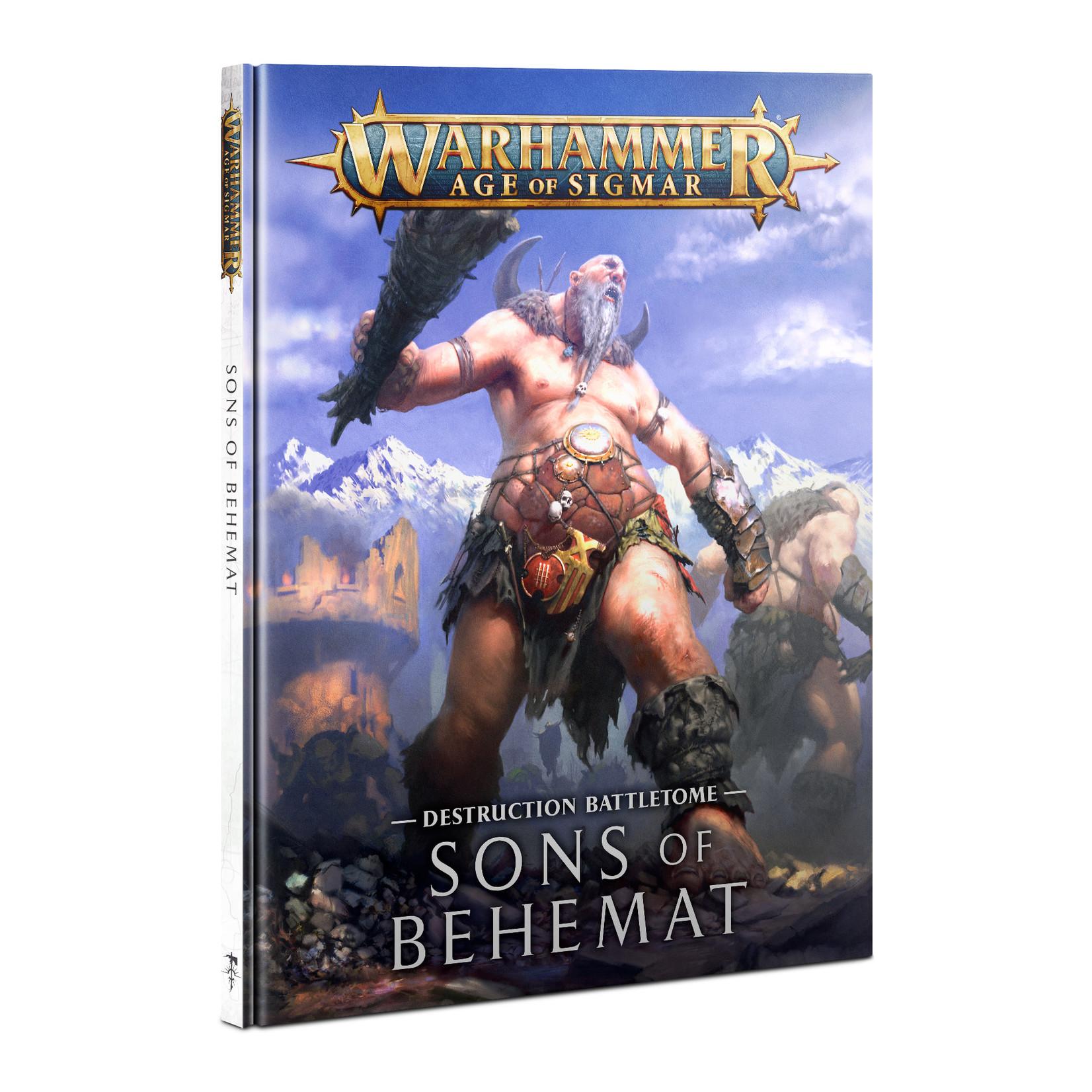 Games Workshop Warhammer Age of Sigmar: Battletome - Sons of Behemat