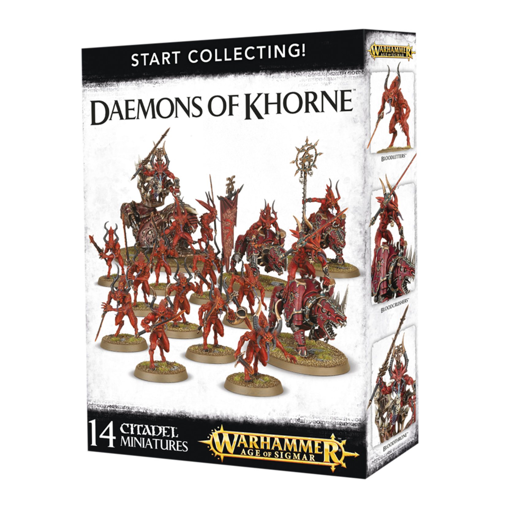 Games Workshop Warhammer 40k: Start Collecting! Daemons of Khorne