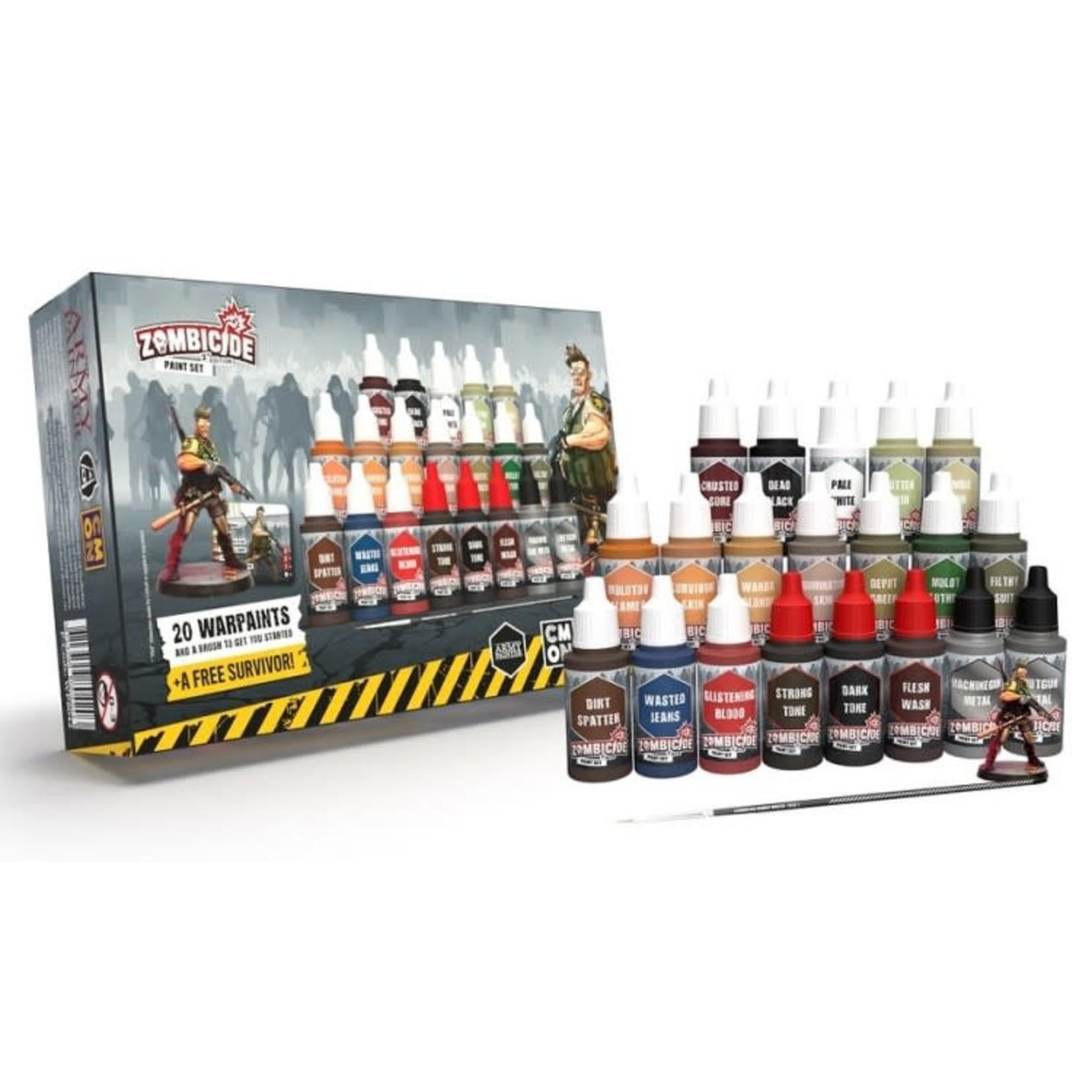 The Army Painter Warpaints: Zombicide 2nd Edition Paint Set