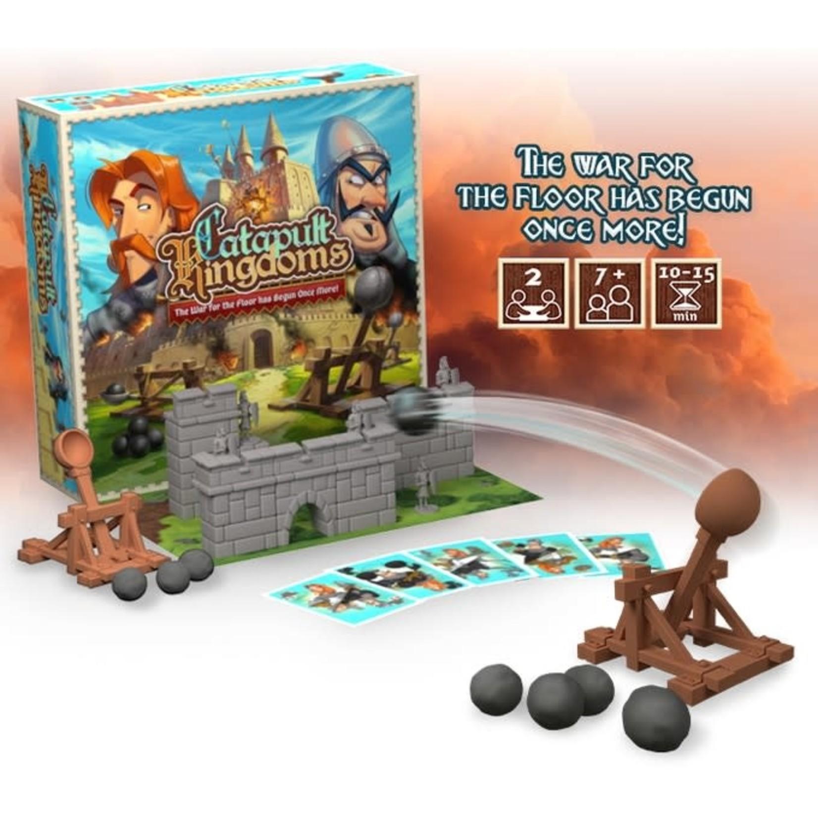 Vesuvius Media Catapult Feud (Catapult Kingdom Kickstarter)