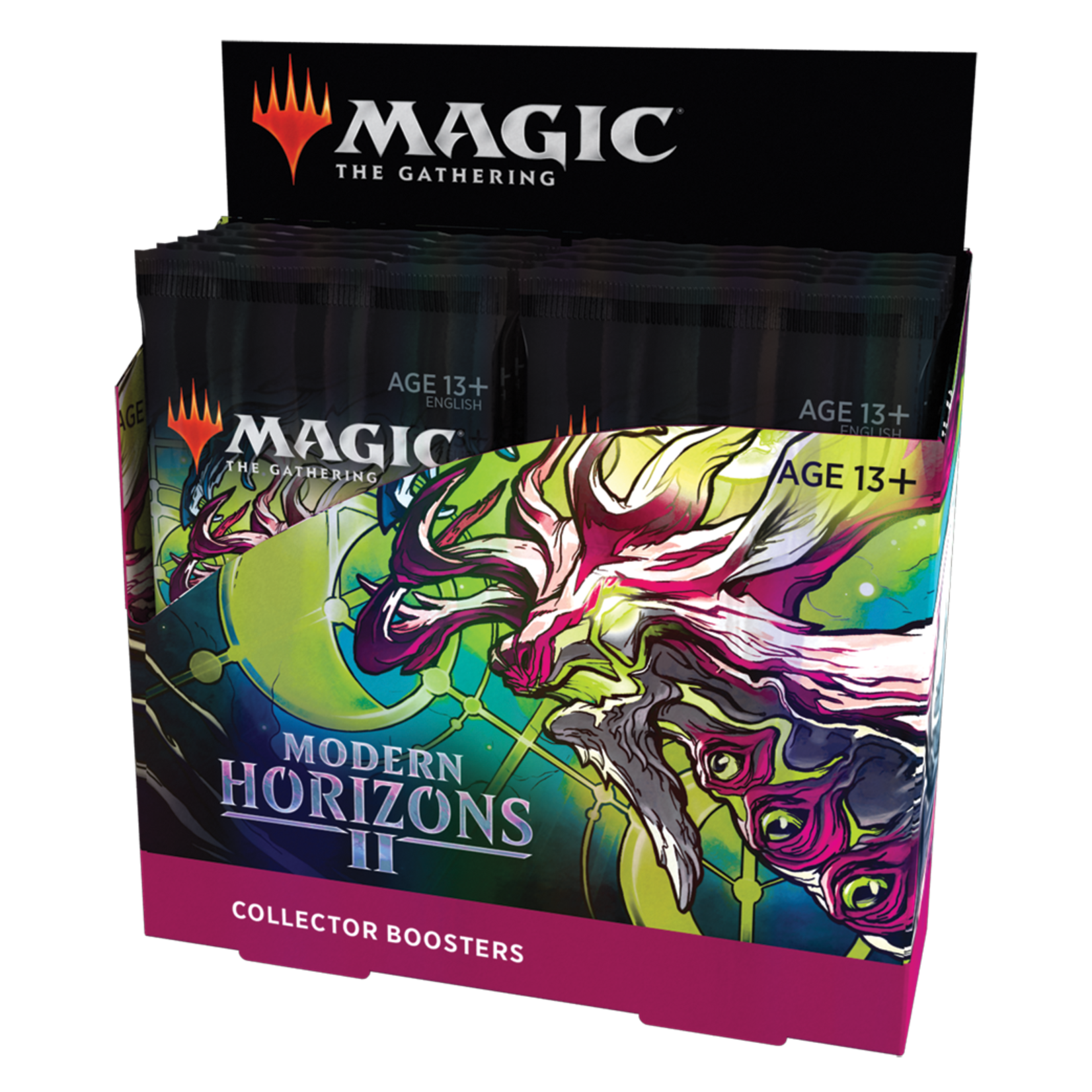 Wizards of the Coast Magic the Gathering: Modern Horizons 2 - Collectors Booster Box