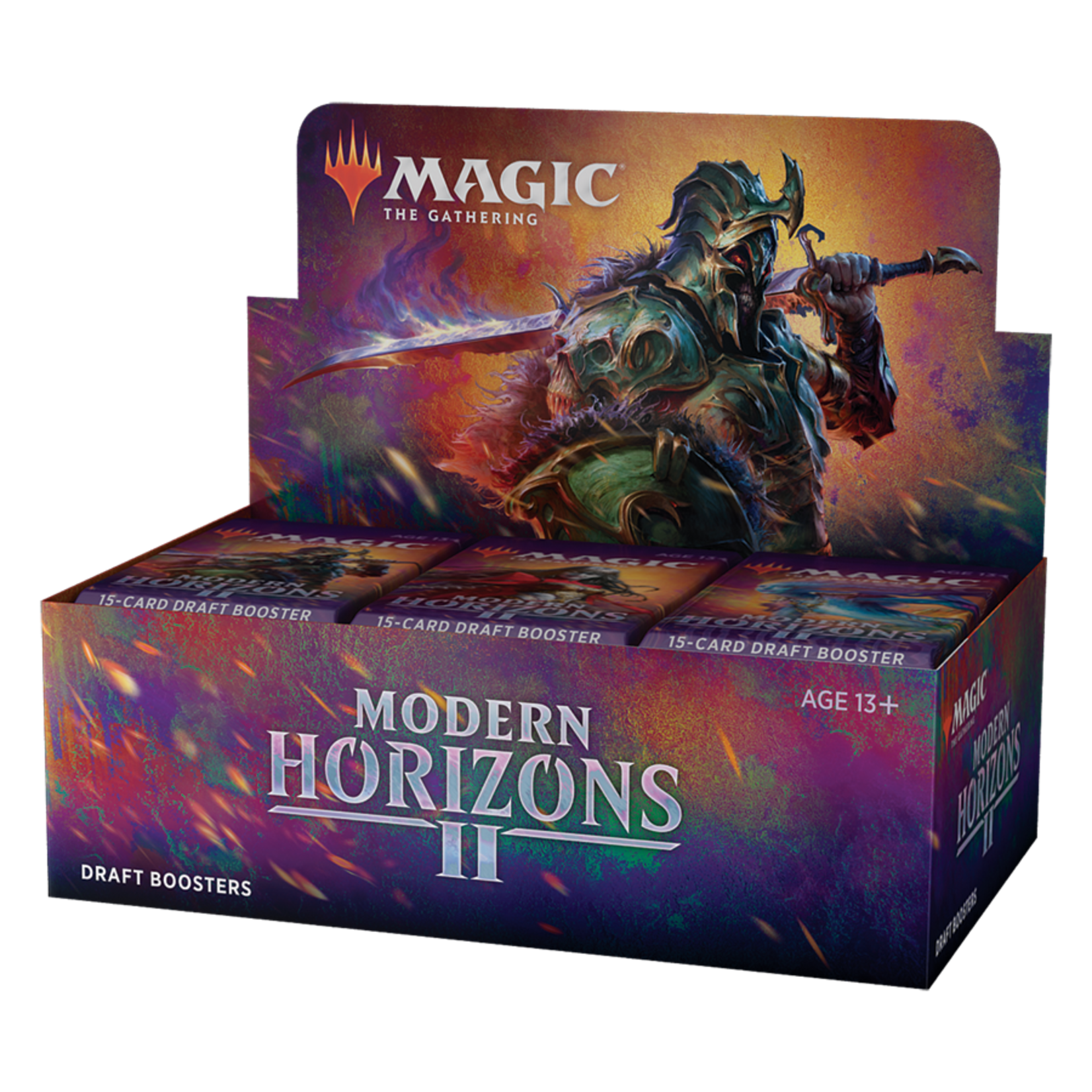 Wizards of the Coast Magic the Gathering: Modern Horizons 2 - Draft Booster Box (Preorder)