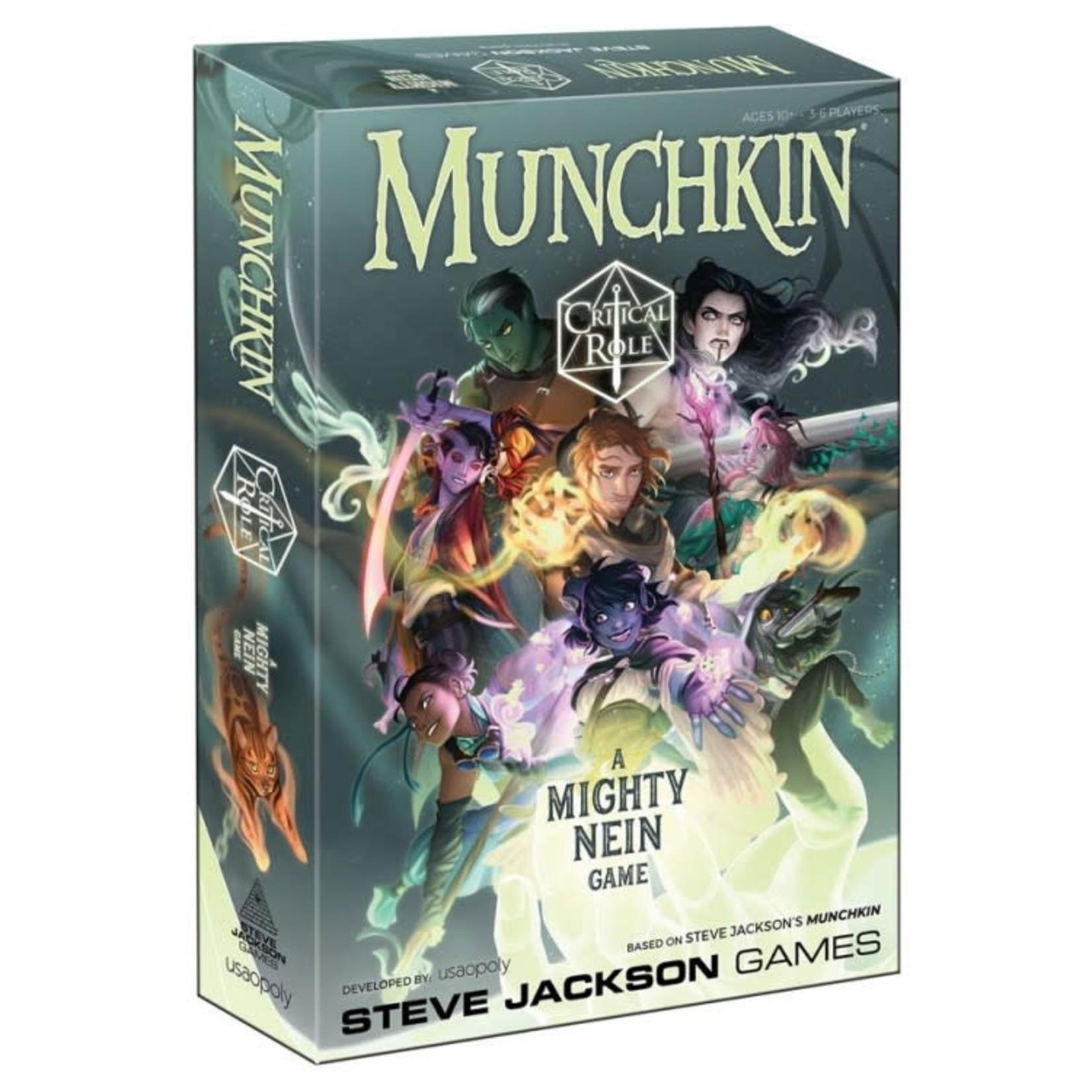 USAoploy Munchkin: Critical Role