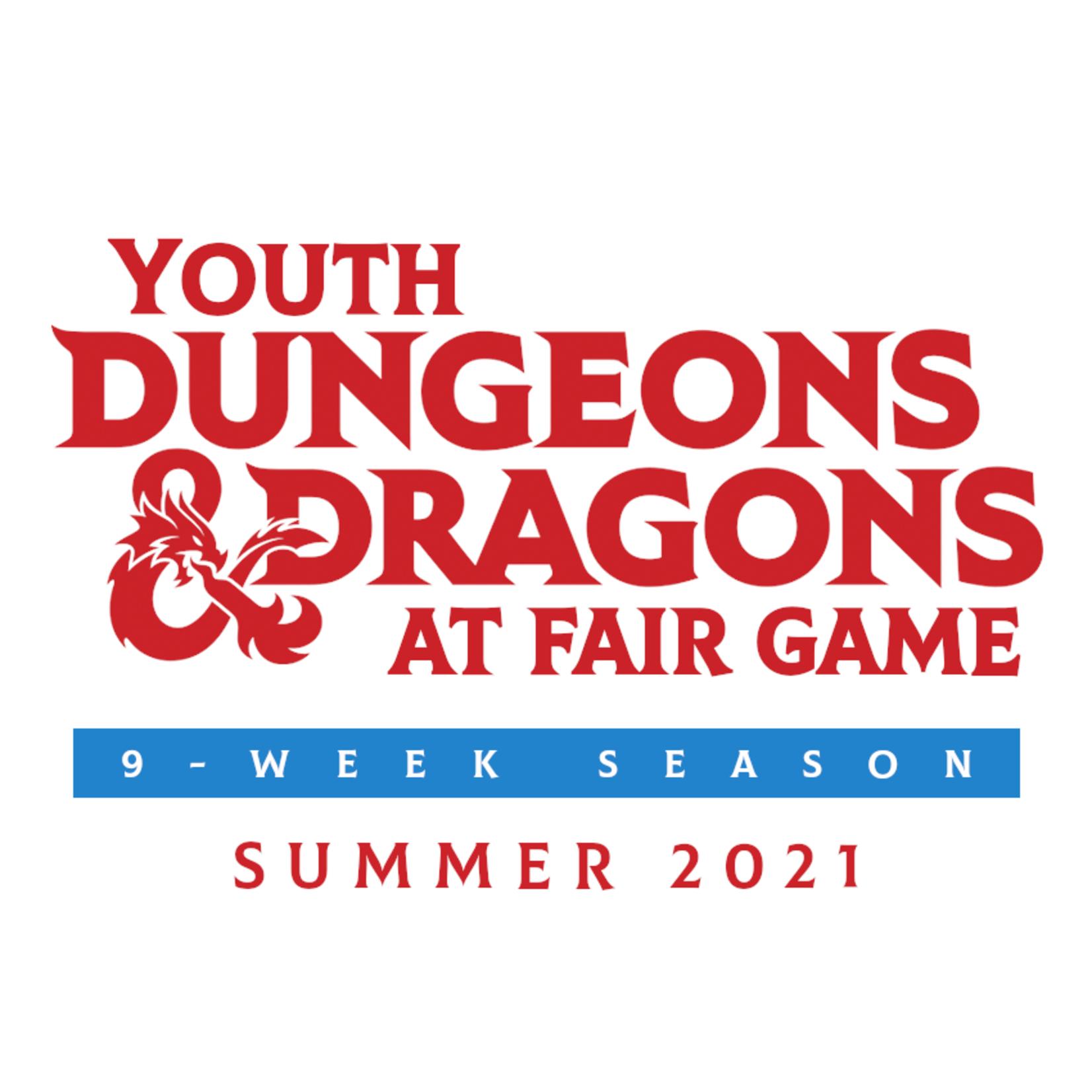 Fair Game YDND Summer 2021 - Group N - Tue/Thur 4-6 PM CST (Ages 8-13)