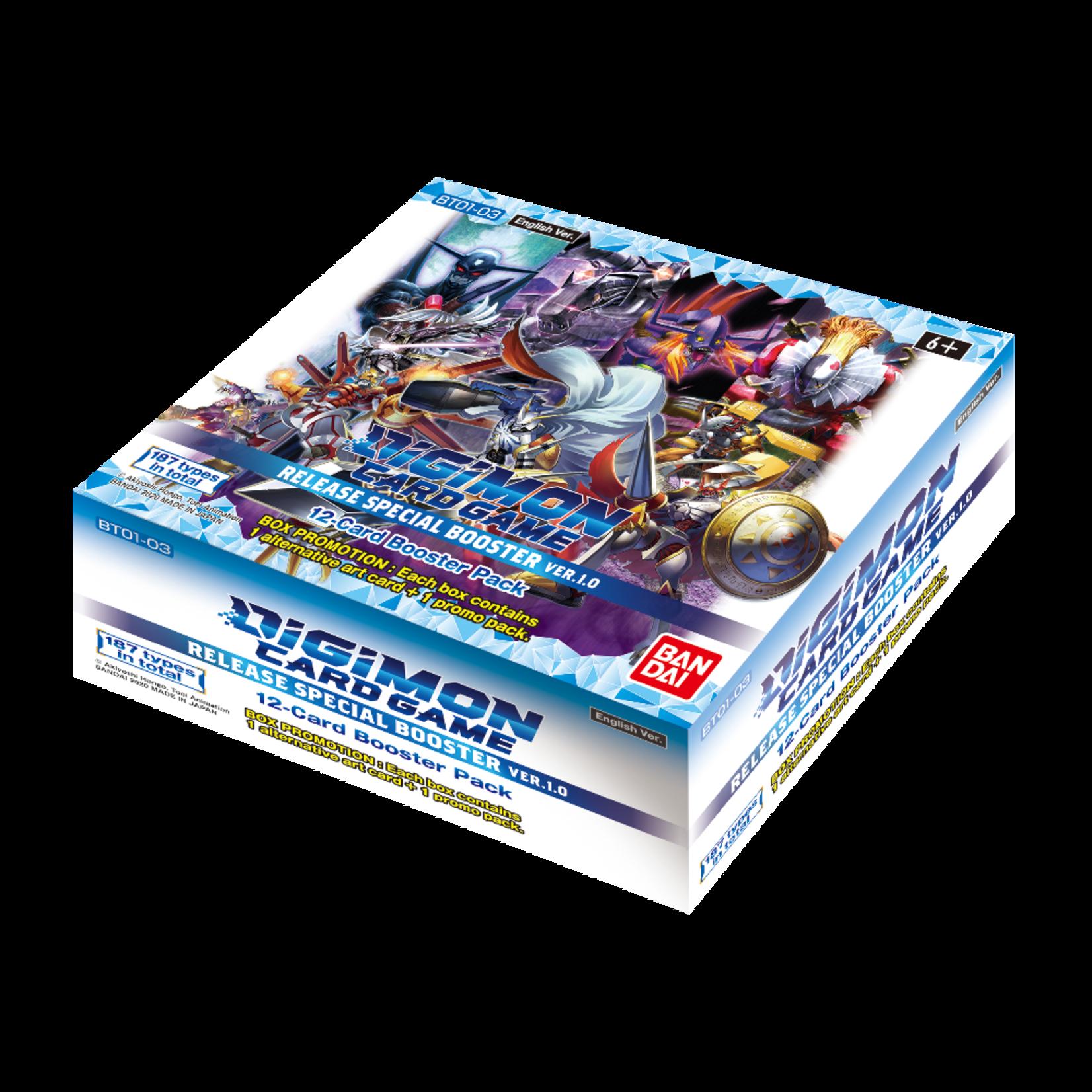 Bandai Digimon Trading Card Game: V1.0 Booster Box