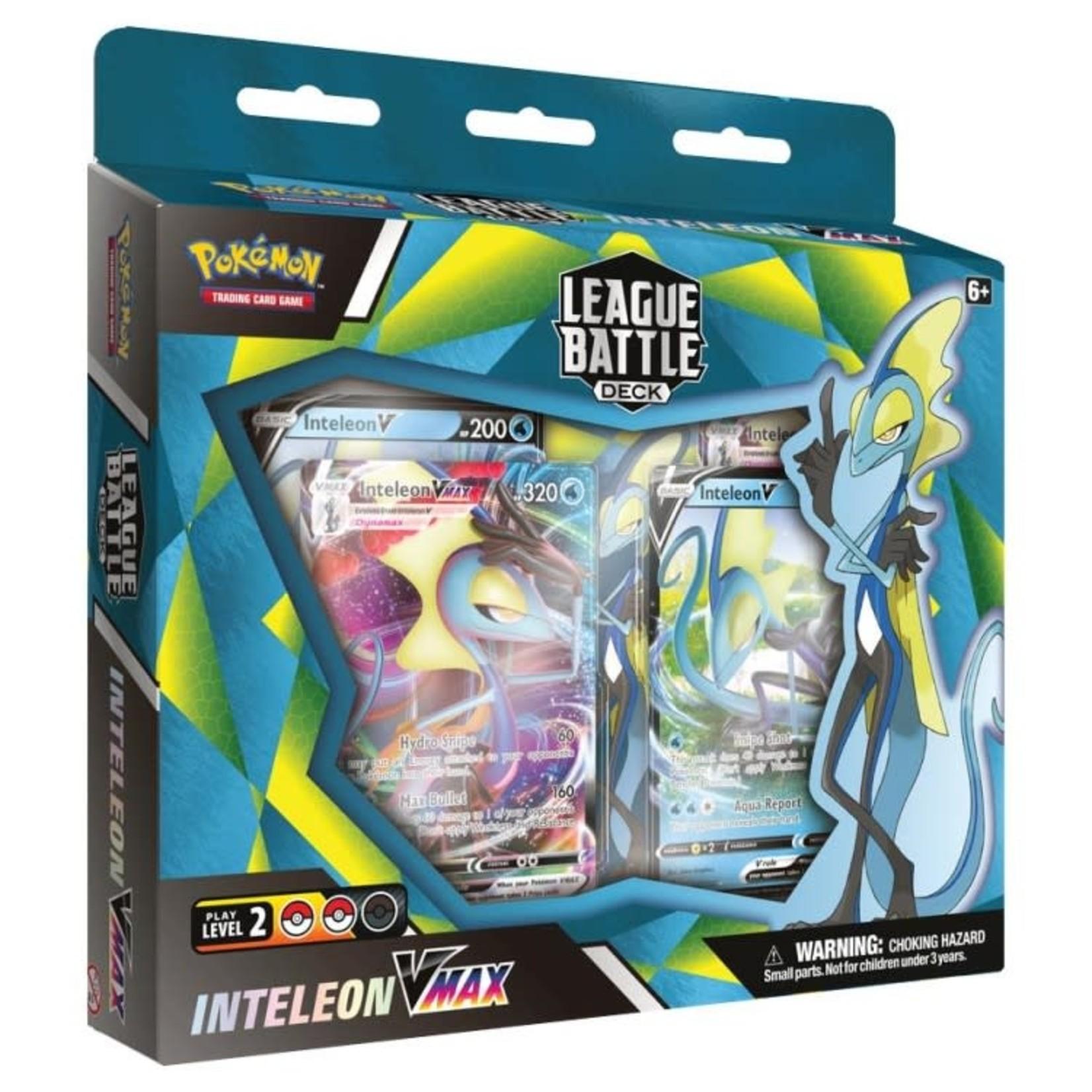 Pokemon International Pokemon League Battle Deck : Inteleon VMAX