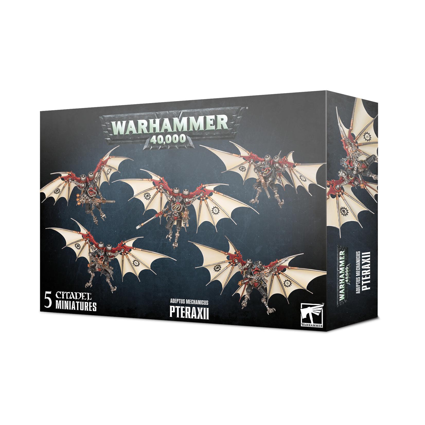 Games Workshop Warhammer 40k: Adeptus Mechanicus - Pteraxii