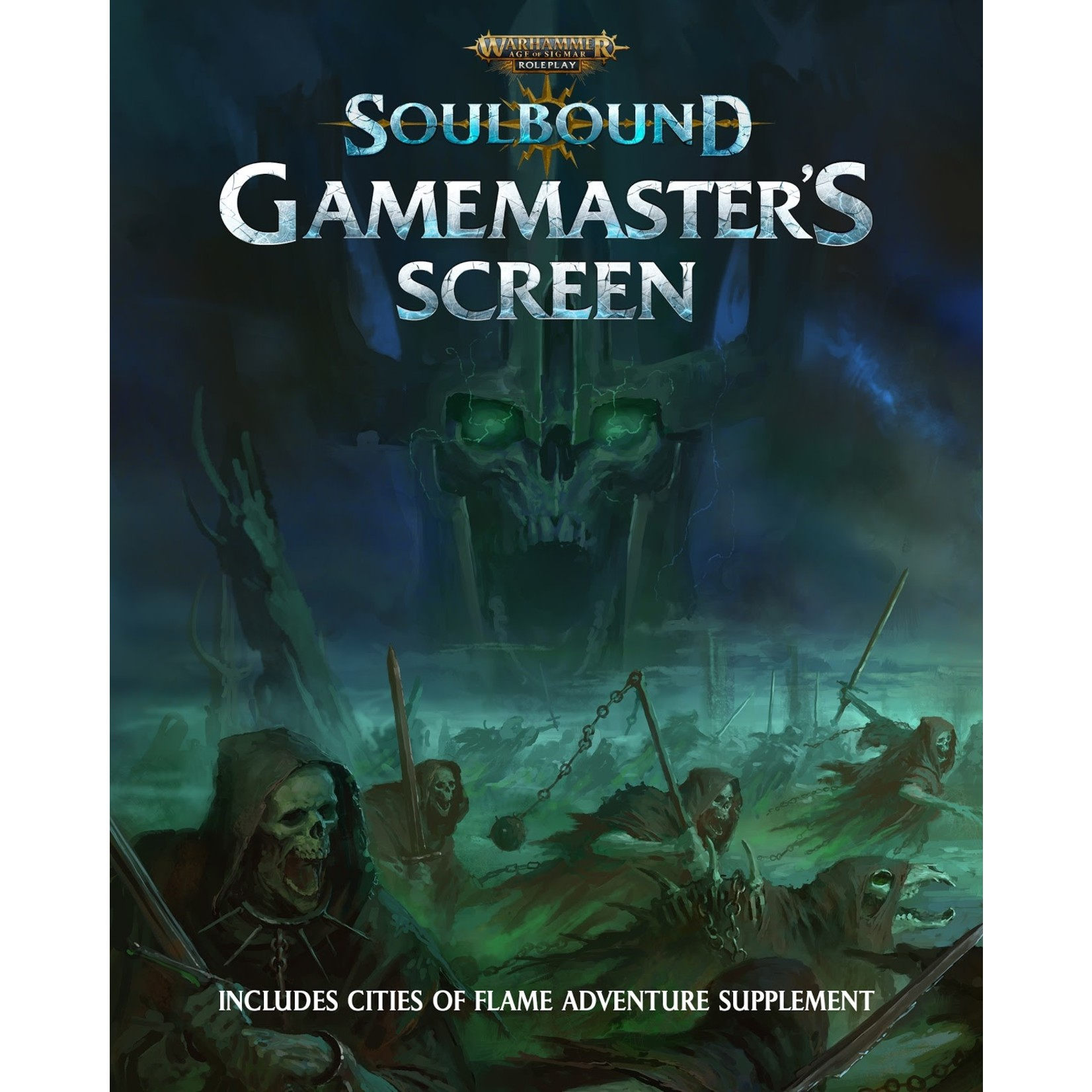 Cubicle 7 Warhammer Age of Sigmar - Soulbound: Gamemaster`s Screen