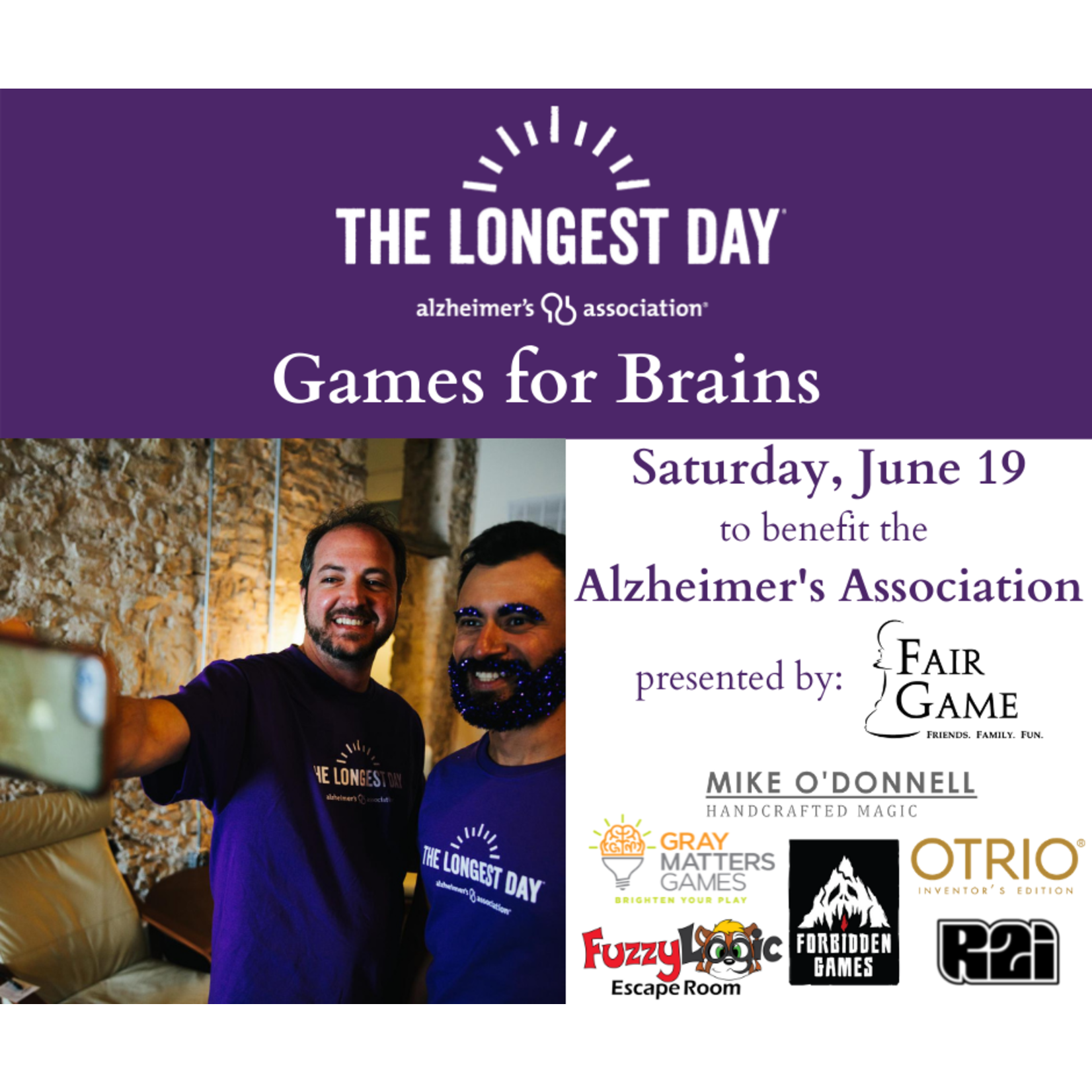 Games for Brains: Magic Show (5 - 5:30 PM)