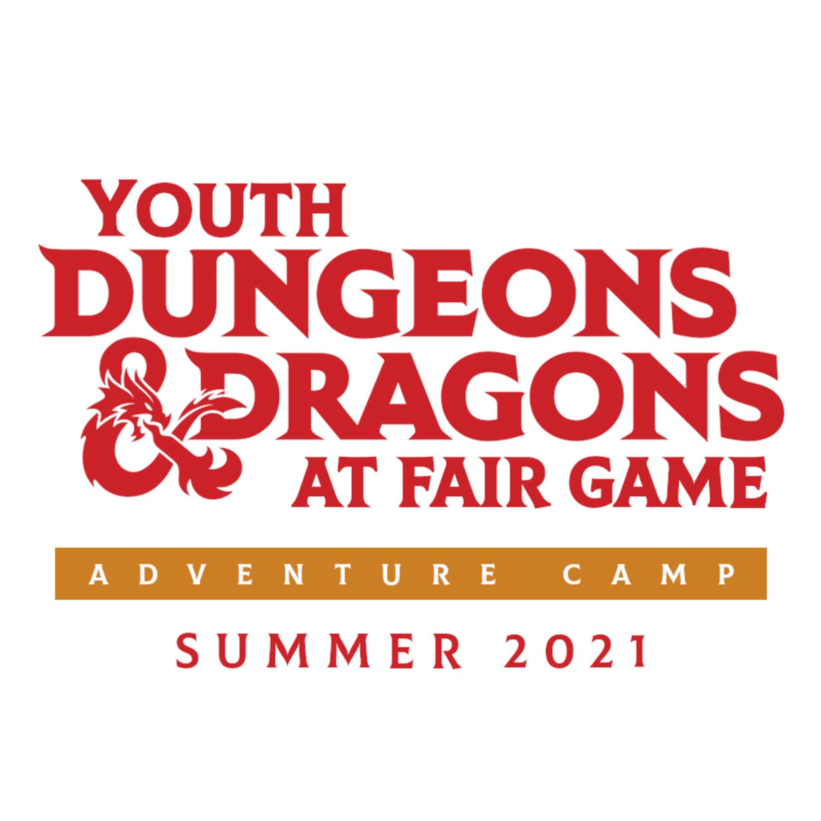 Fair Game YDND June 2021 - Adventure Camp -June 7, 9, 11 - 1-3 PM CST (Ages 8-13)