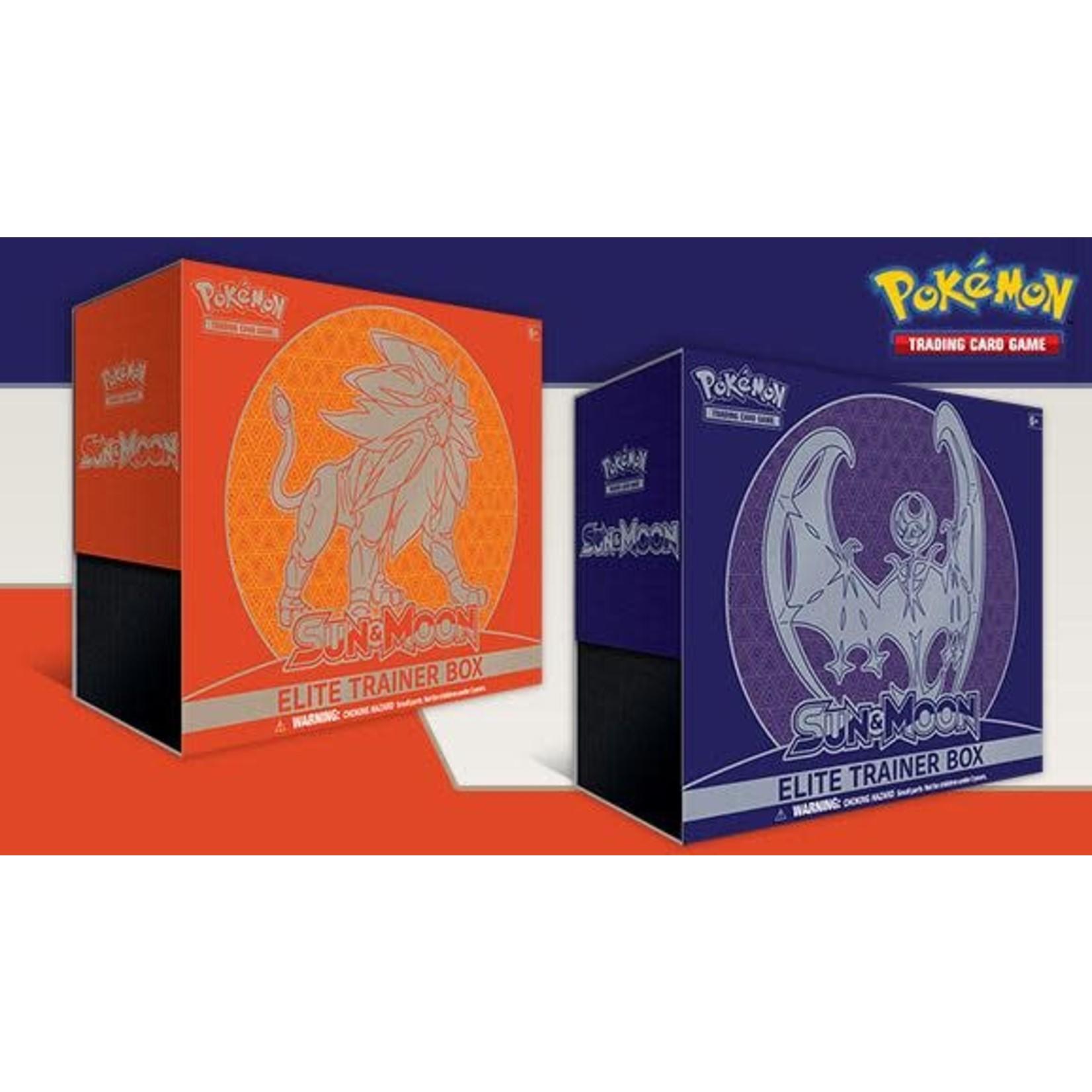 Pokemon International Pokemon Sun & Moon Elite Trainer Box