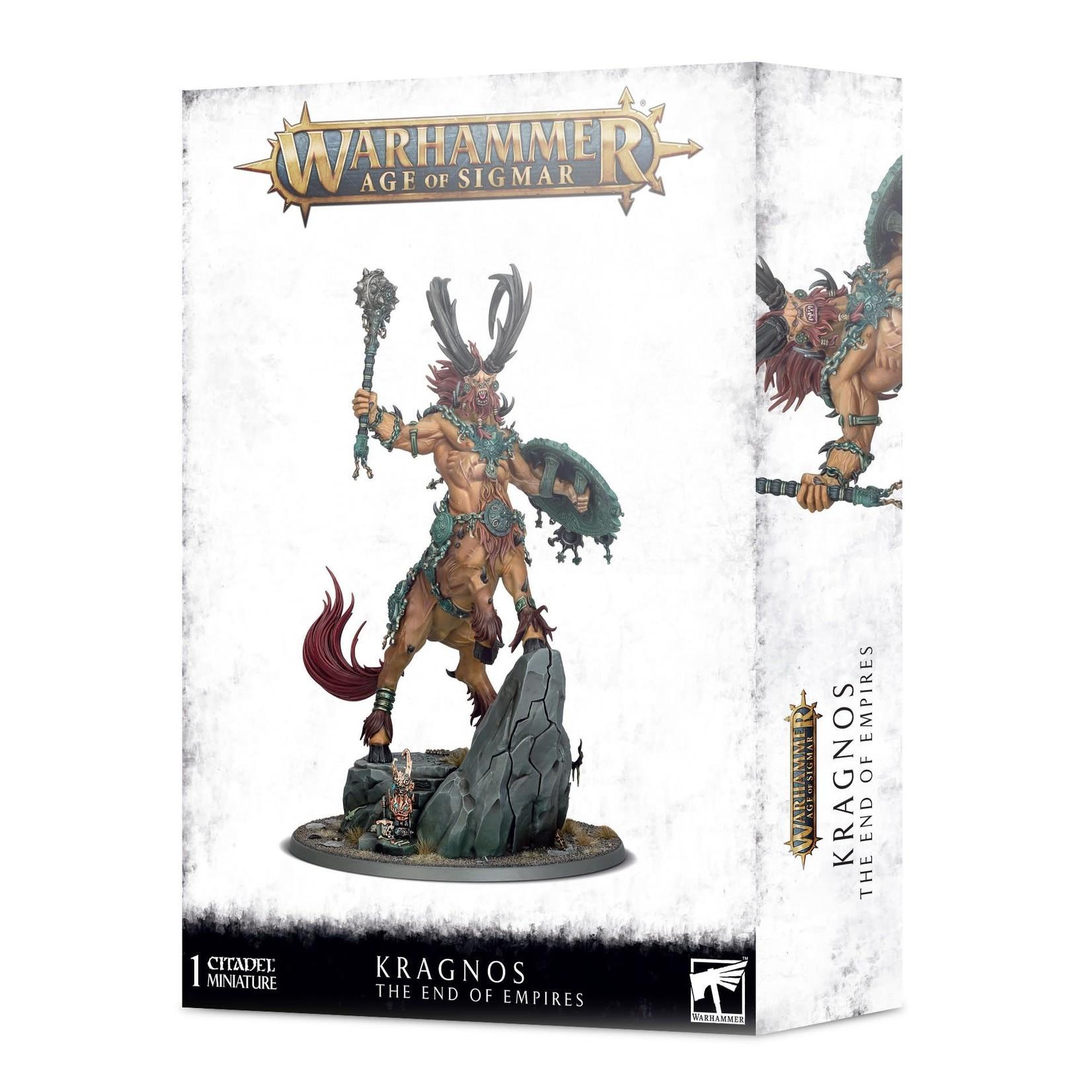 Games Workshop Warhammer Age of Sigmar: Kragnos The End of Empires