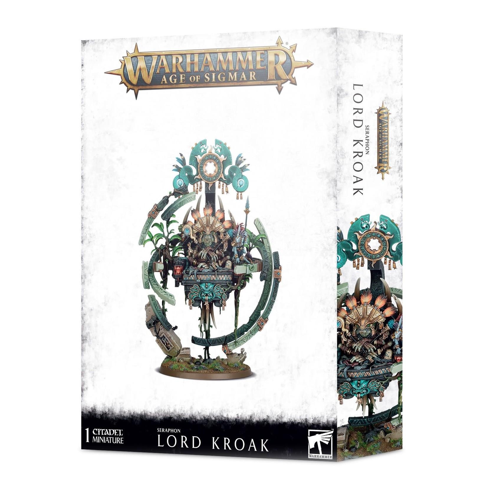 Games Workshop Warhammer Age of Sigmar: Seraphon - Lord Kroak