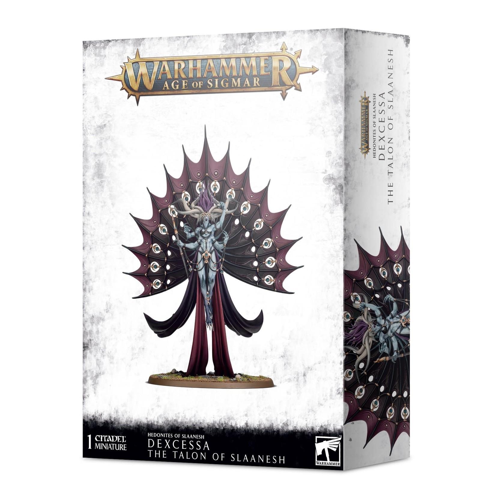 Games Workshop Warhammer Age of Sigmar: Hedonites of Slaanesh - Dexcessa the Talon of Slaanesh