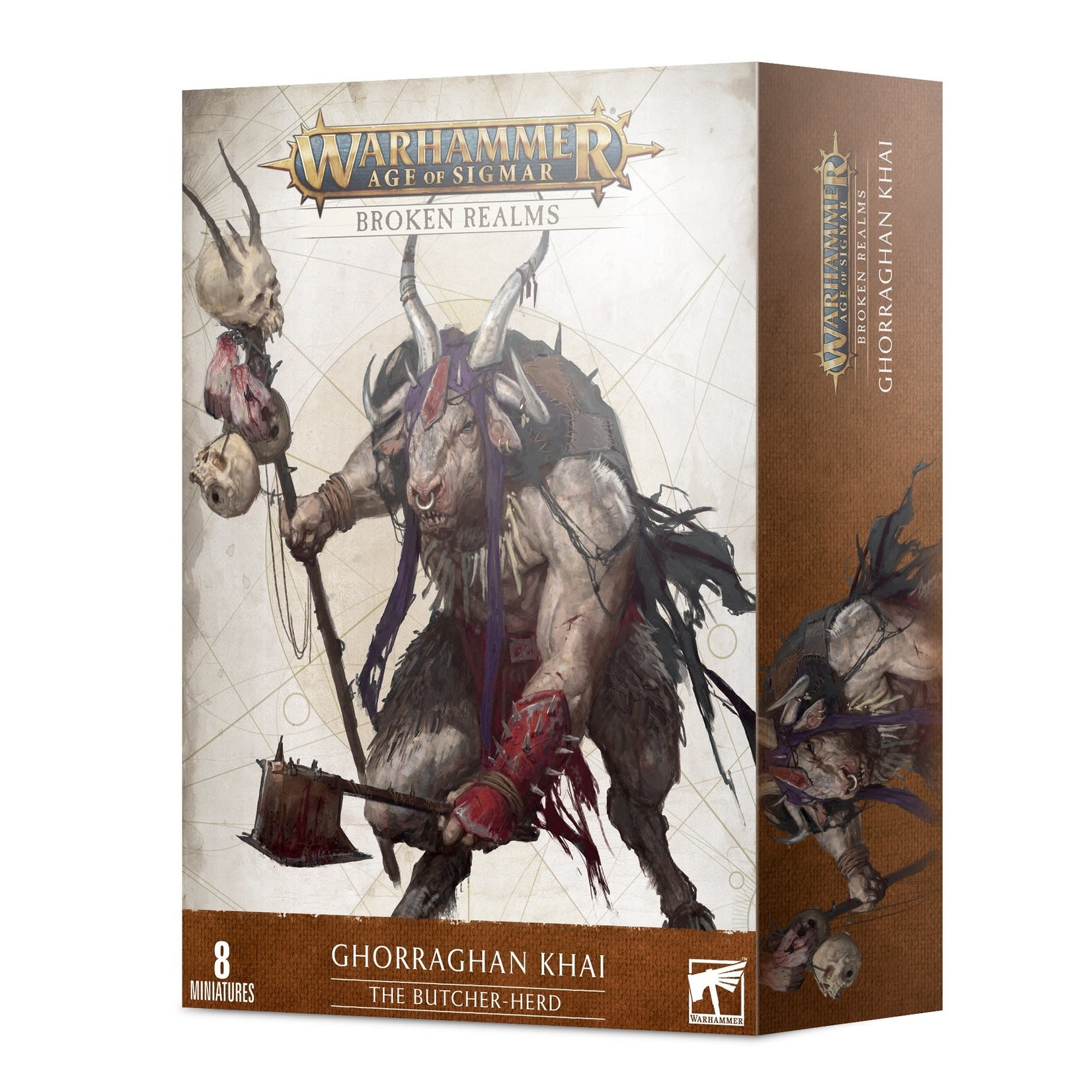 Games Workshop Warhammer Age of Sigmar: Broken Realms - The Butcher-Herd