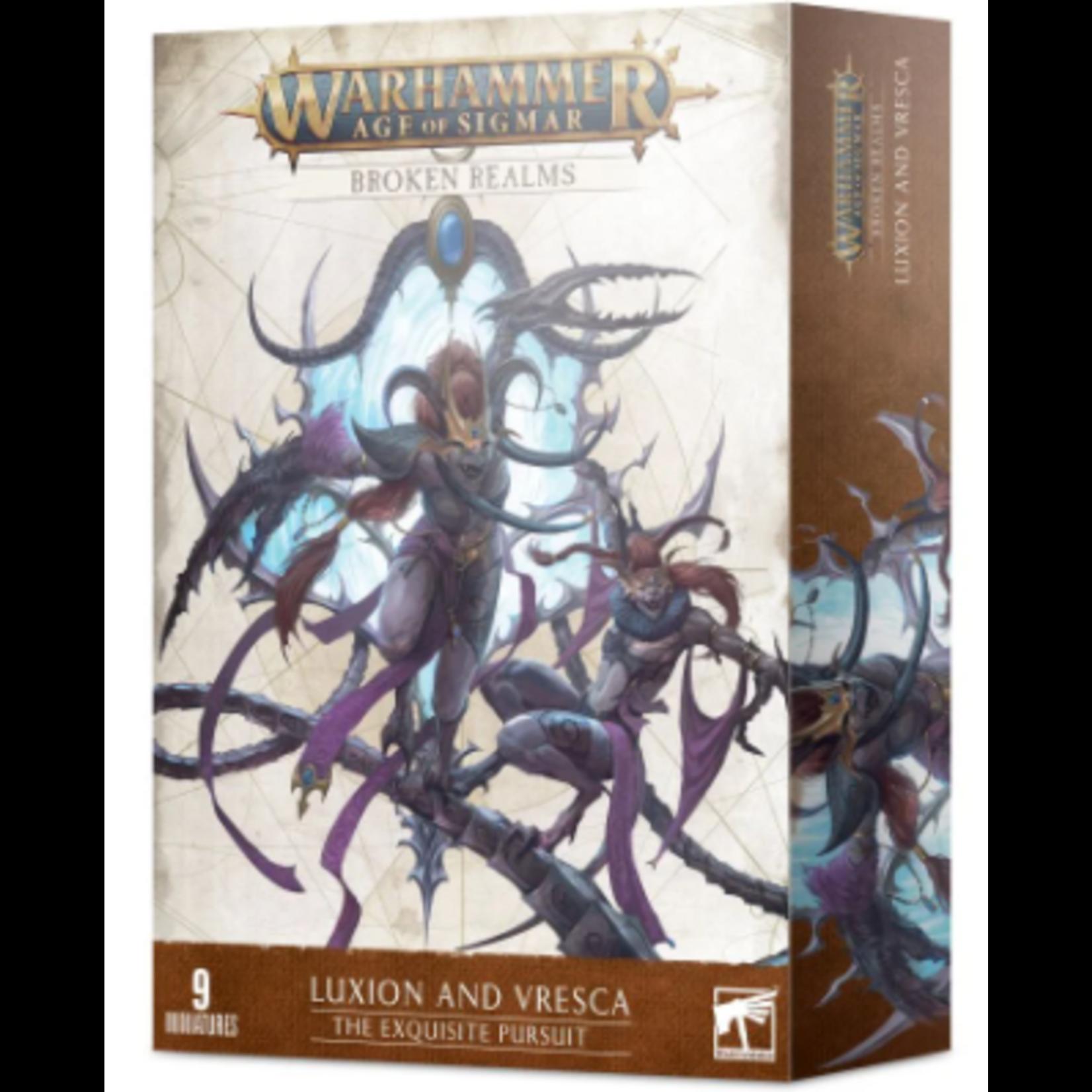 Games Workshop Warhammer Age of Sigmar: Broken Realms - The Exquisite Pursuit