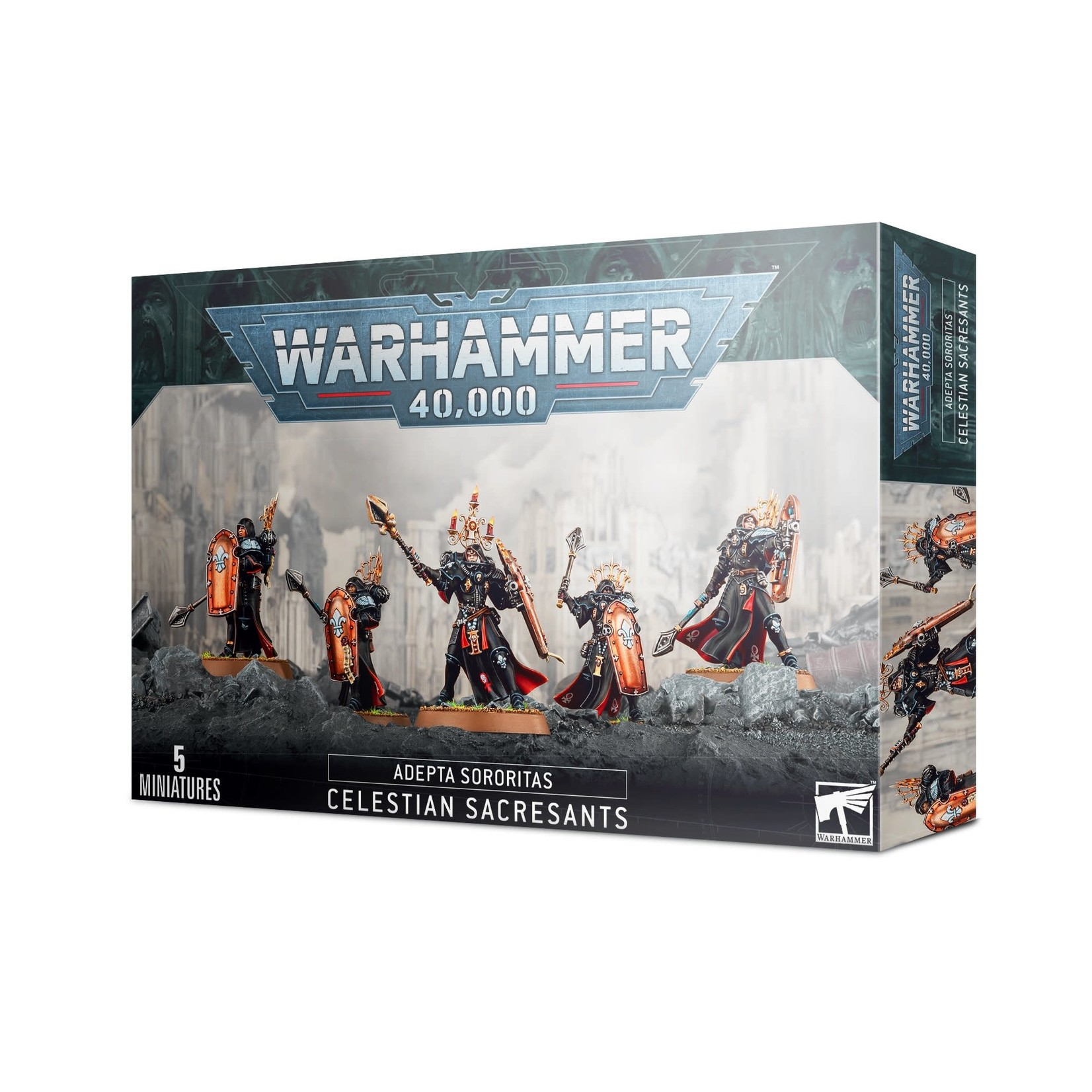 Games Workshop Warhammer 40k: Adepta Sororitas- Celestian Sacresants