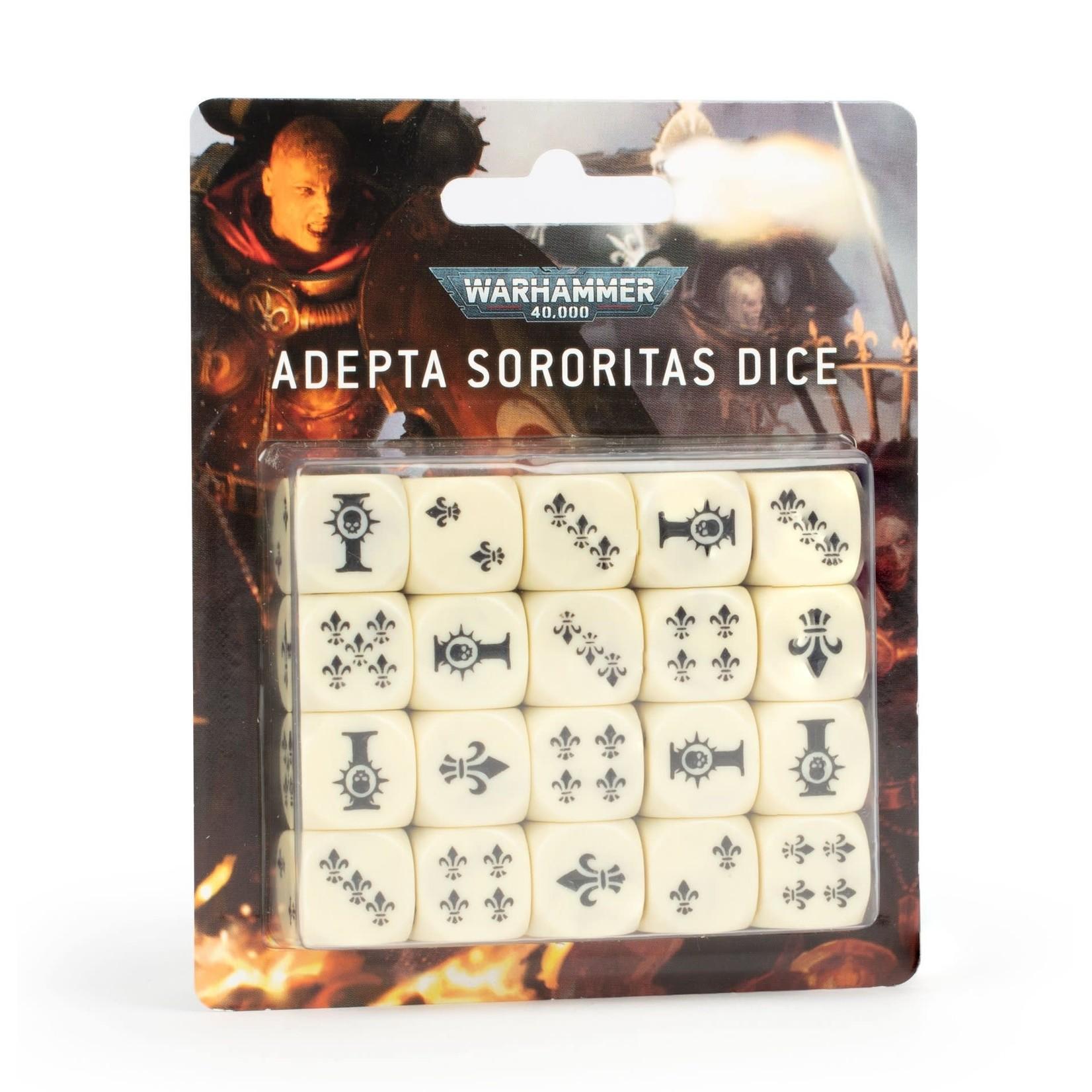 Games Workshop Warhammer 40k: Adepta Sororitas - Battle Sisters Dice