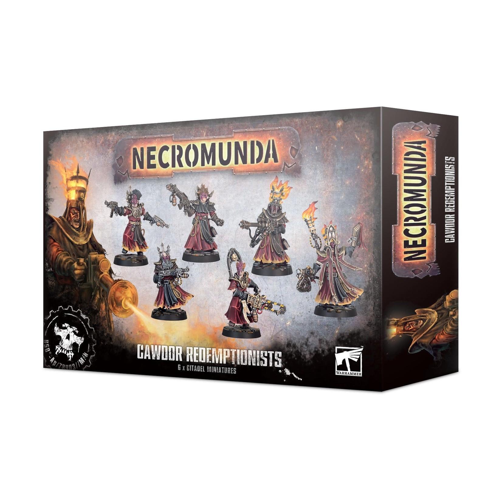 Games Workshop Necromunda-Cawdor Redemptionists