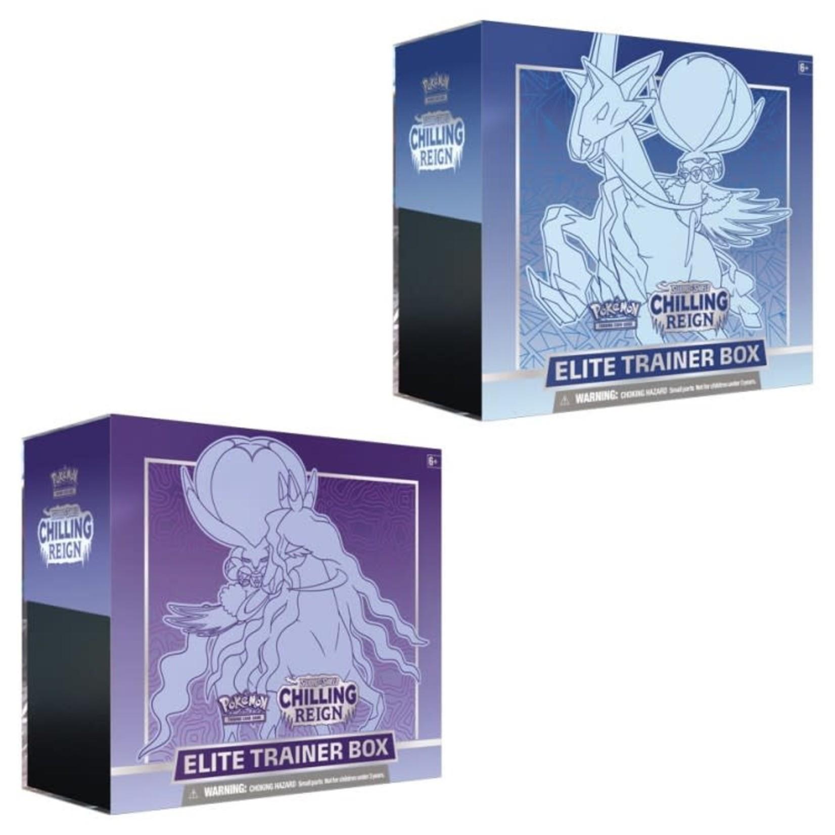 Pokemon International Pokemon Trading Card Game: Chilling Reign Elite Trainer Box