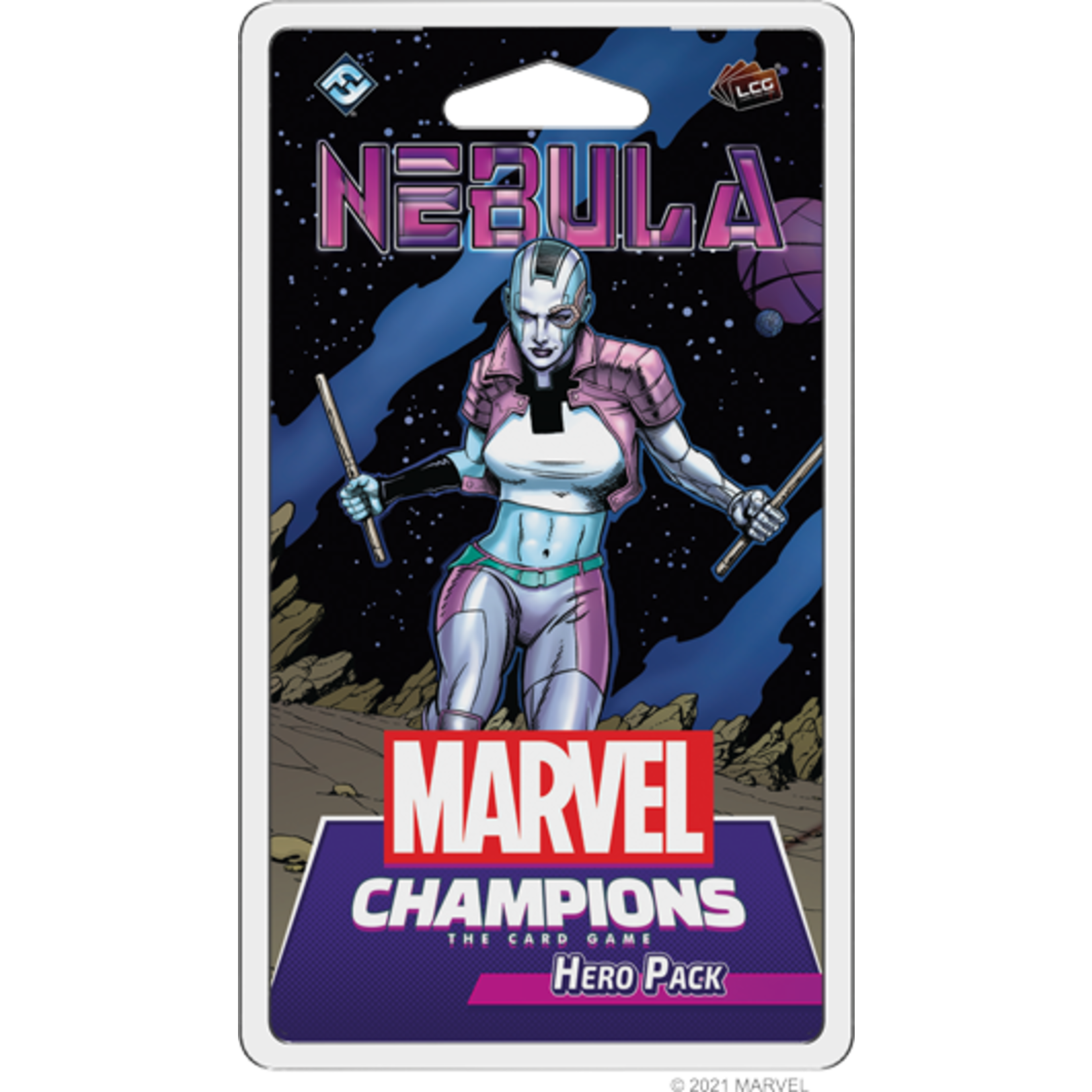 Fantasy Flight Games Marvel Champions Living Card Game: Nebula Hero Pack