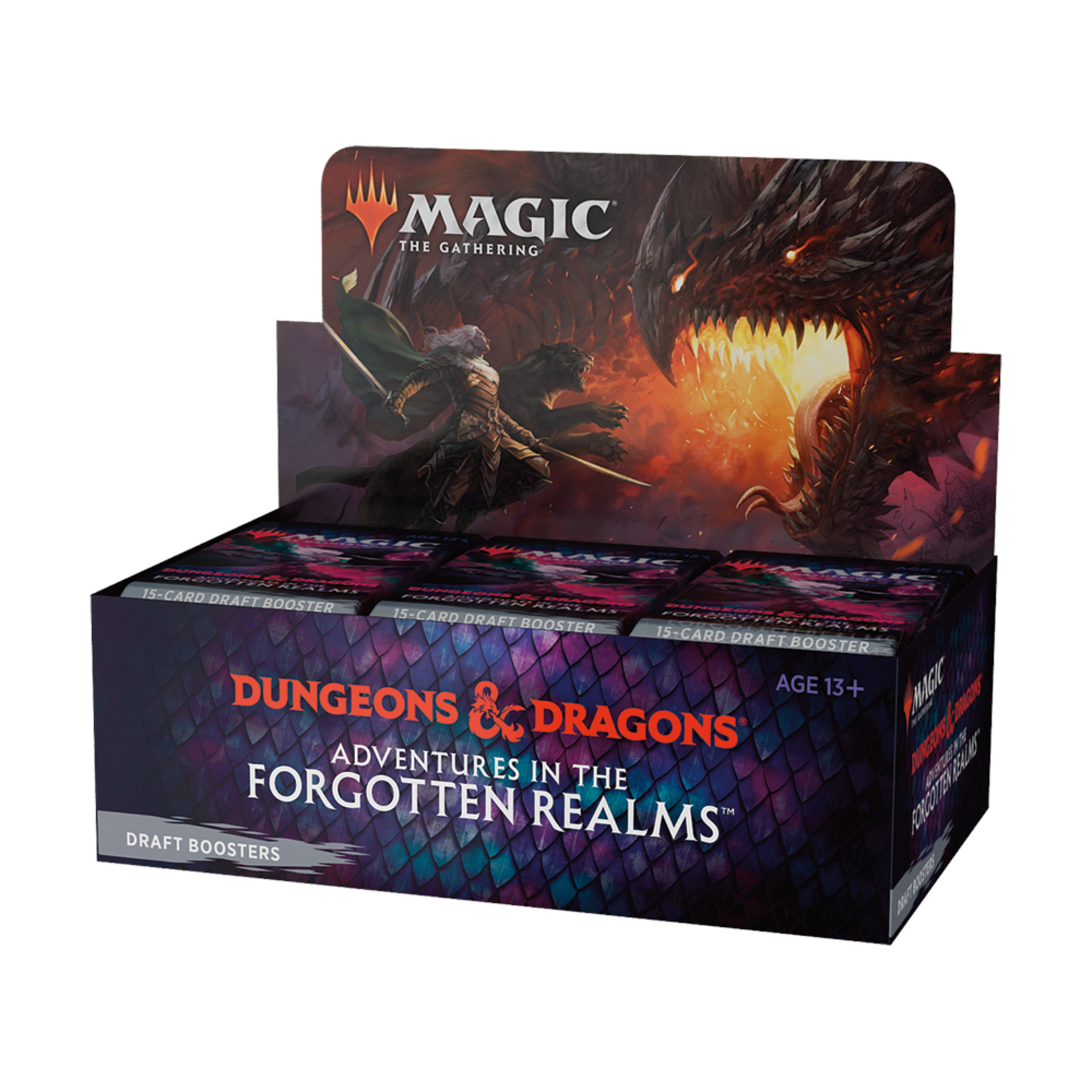 Wizards of the Coast Magic the Gathering: Dungeons & Dragons: Adventures in the Forgotten Realms - Draft Booster Box