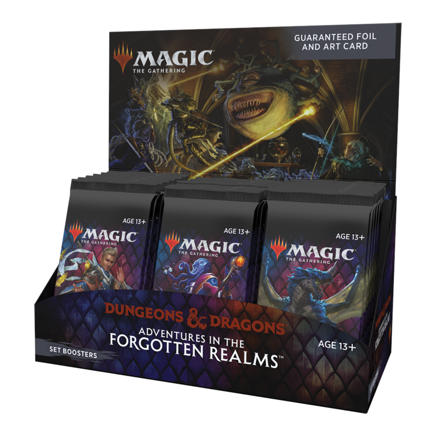 Wizards of the Coast Magic the Gathering: Dungeons & Dragons: Adventures in the Forgotten Realms - Set Booster Box