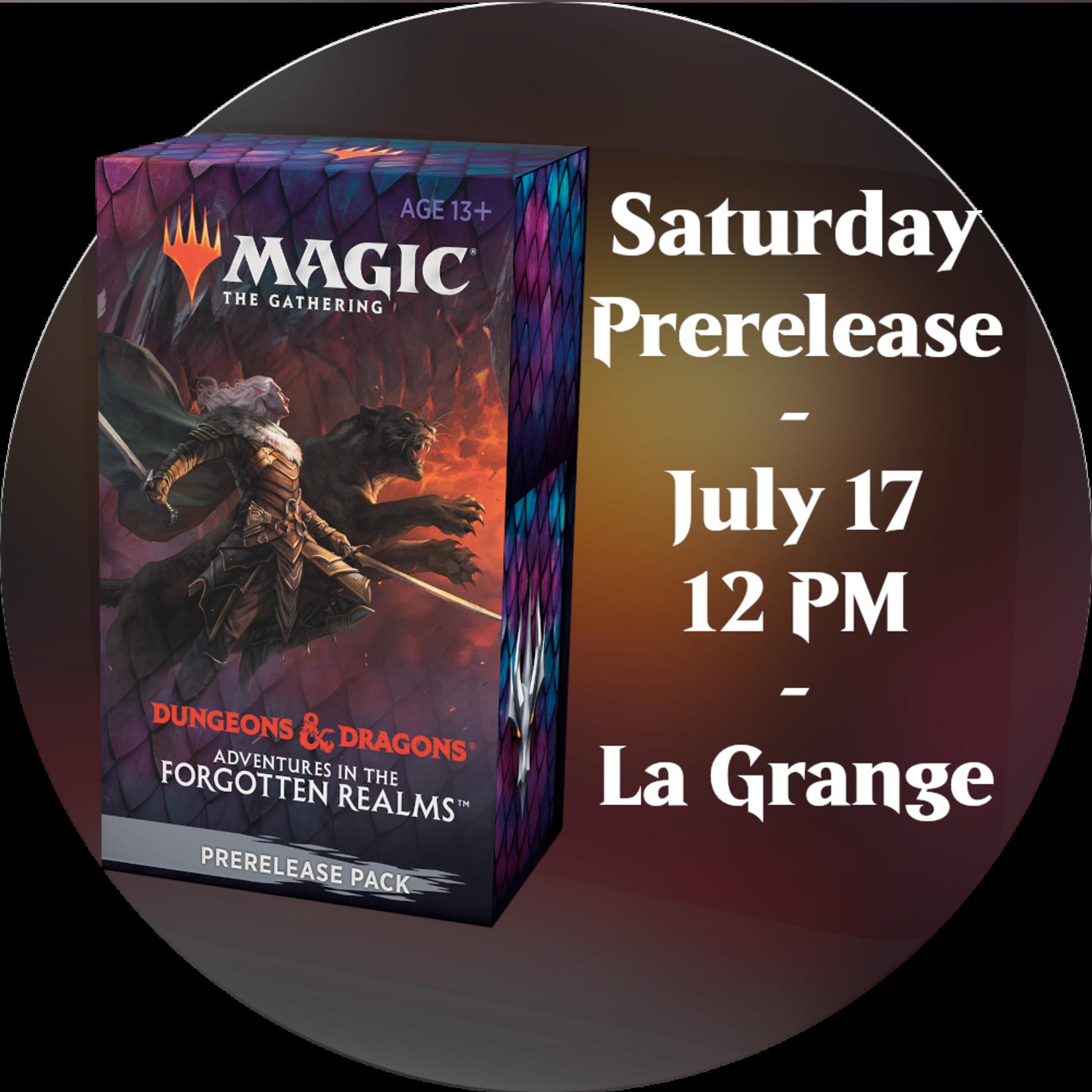 Admission: Forgotten Realms Saturday Sealed Deck Prerelease (12 PM, La Grange)
