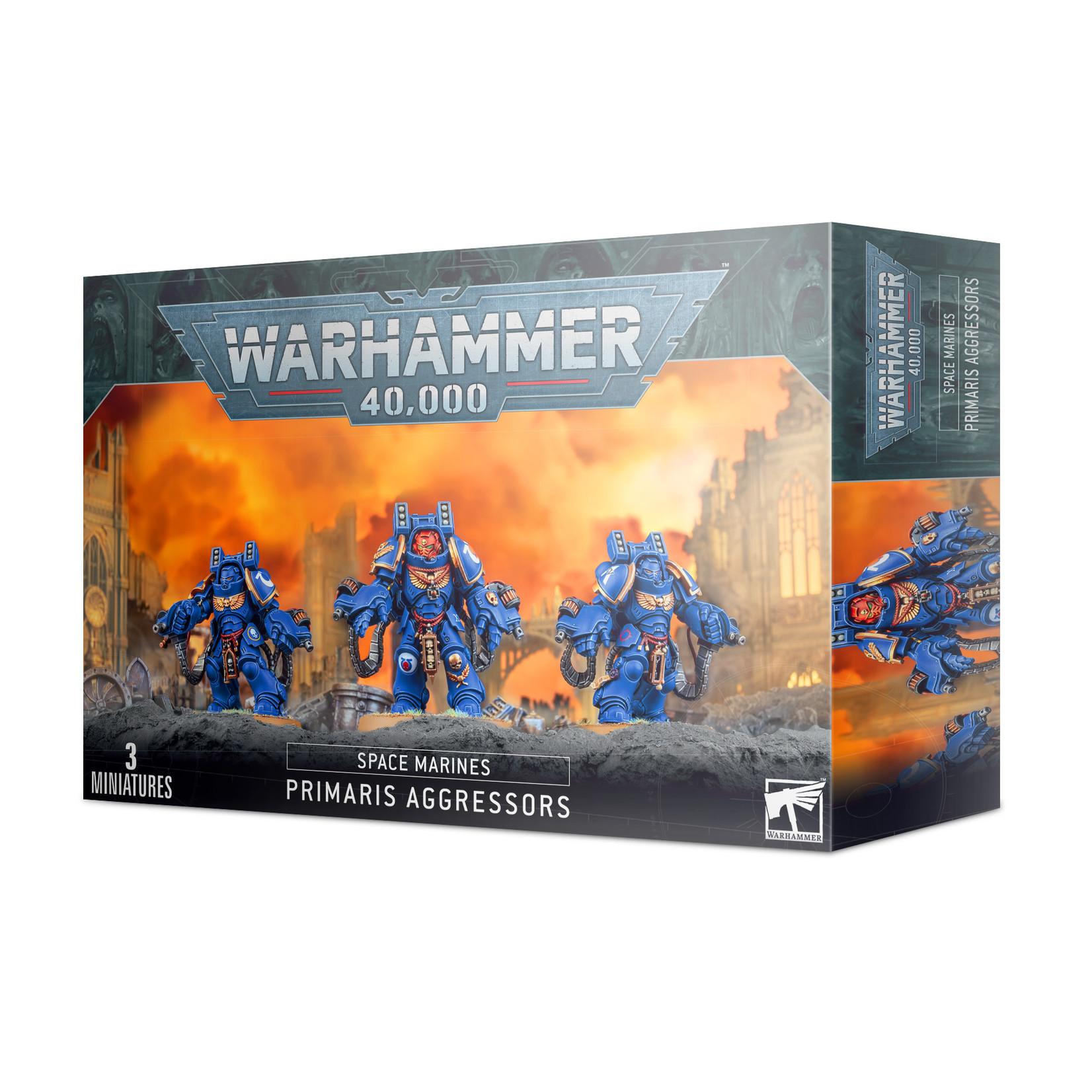 Games Workshop Warhammer 40k: Space Marines - Primaris Aggressors