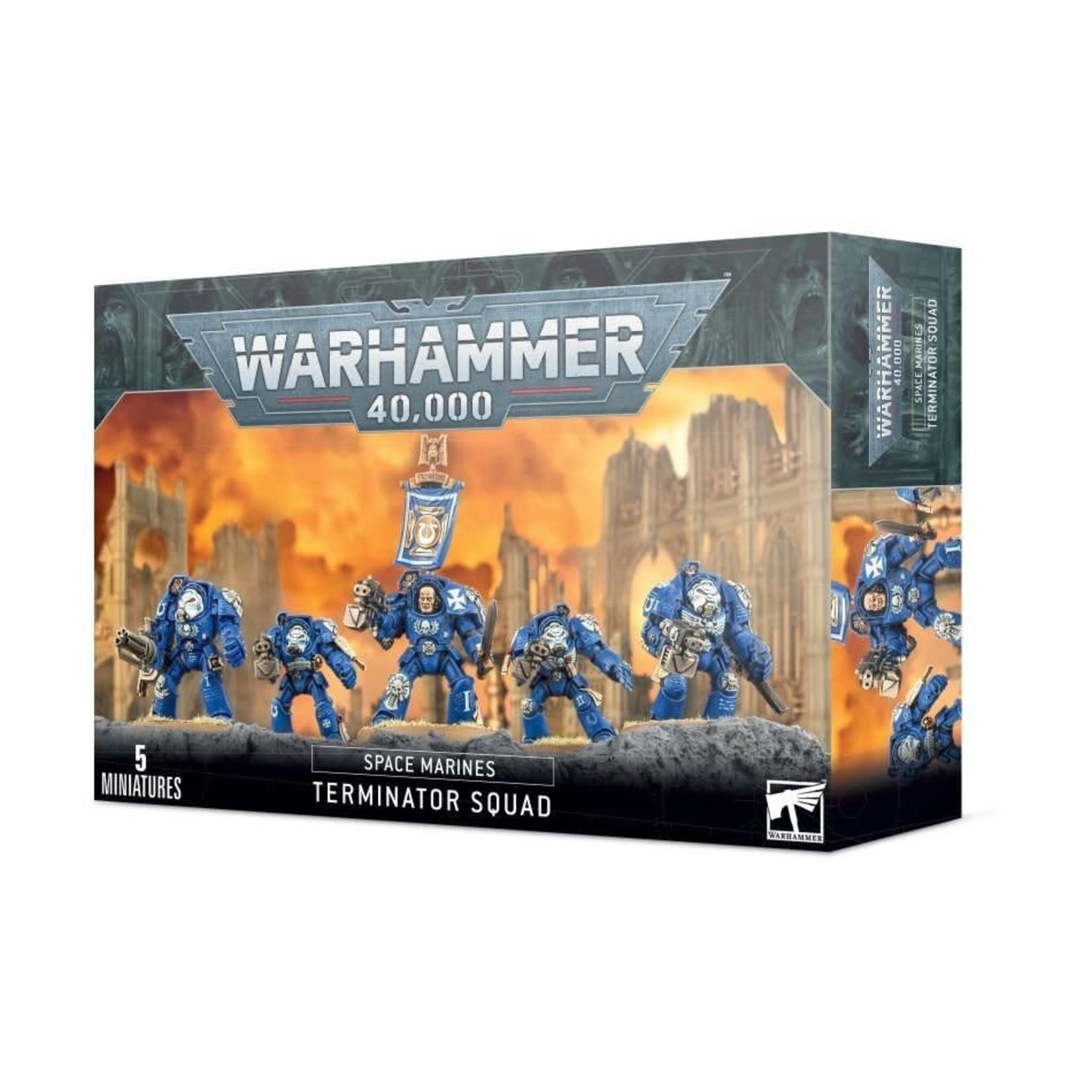 Games Workshop Warhammer 40k: Space Marines - Terminator Squad