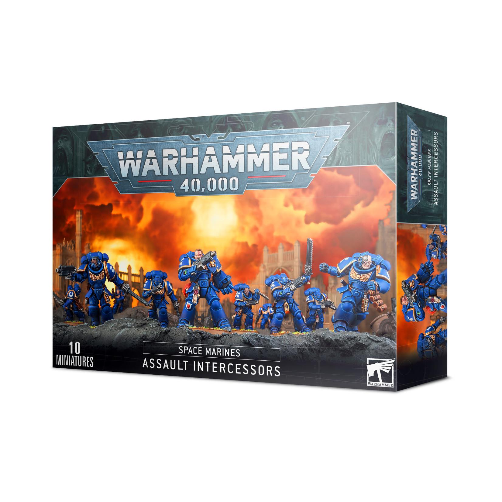 Games Workshop Warhammer 40k: Space Marines - Assault Intercessors