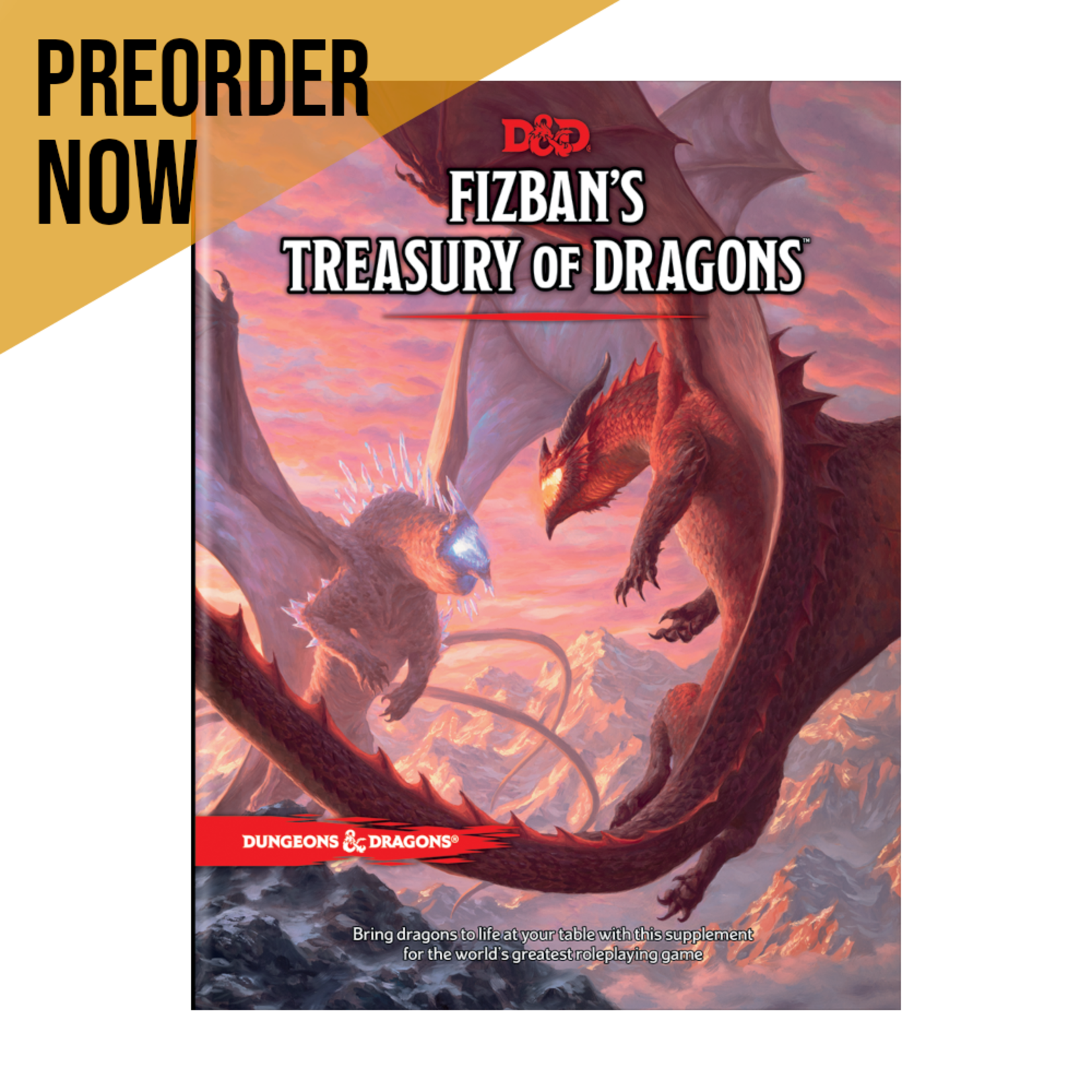 Wizards of the Coast Dungeons and Dragons Fifth Edition: Fizban's Guide to Dragons