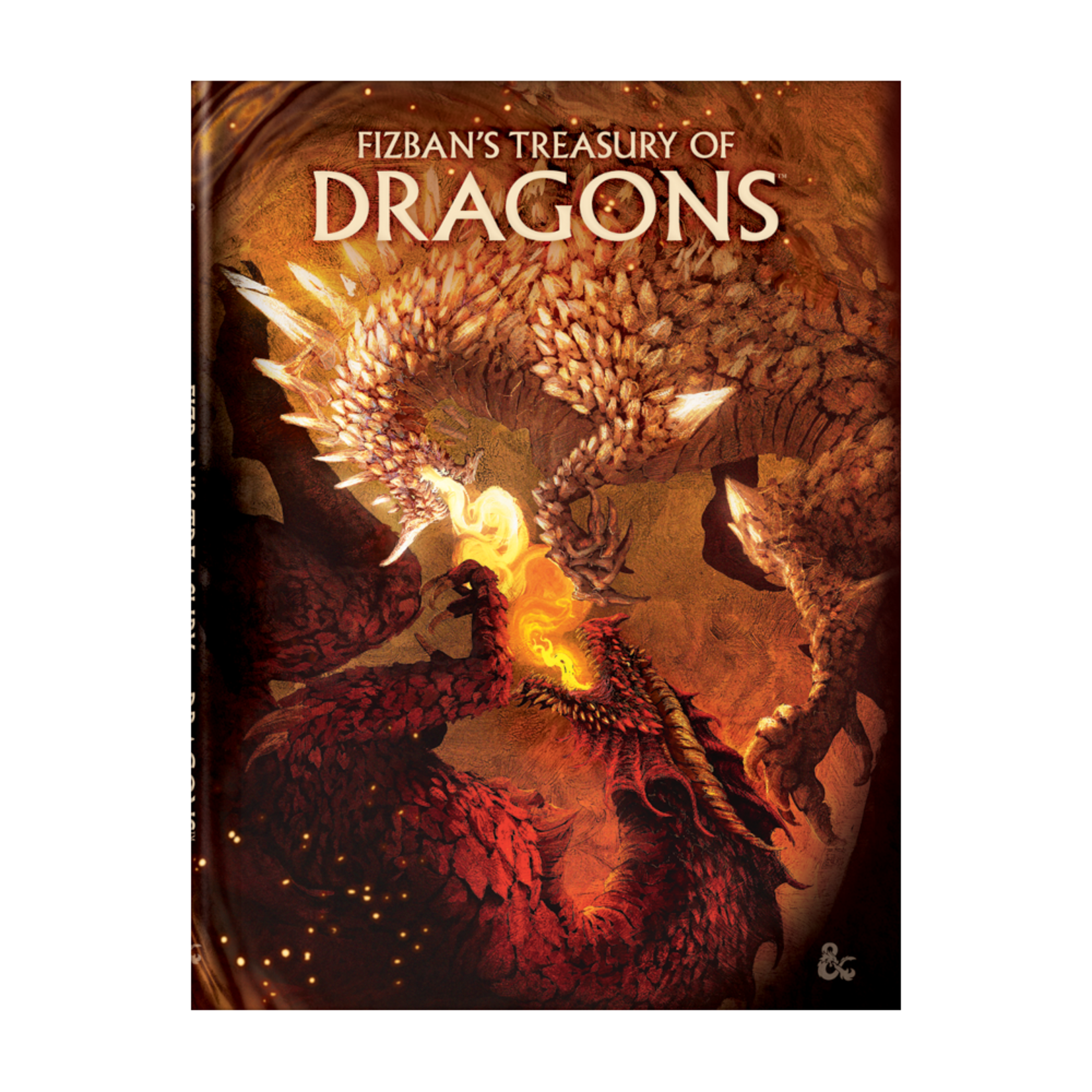 Wizards of the Coast Dungeons and Dragons Fifth Edition: Fizban's Guide to Dragons Hardcover [ALTERNATE ART] (Preorder)