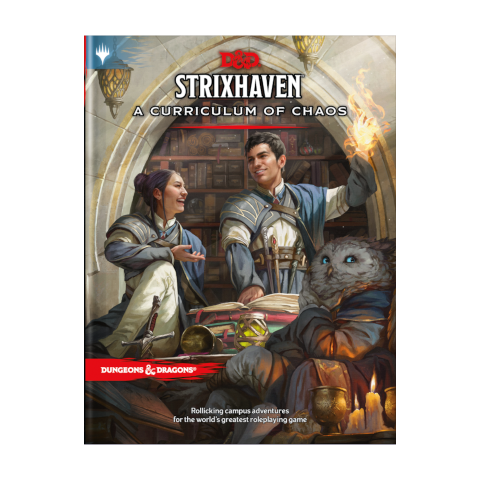 Wizards of the Coast Dungeons and Dragons Fifth Edition: Strixhaven - A Curriculum of Chaos Hardcover (Preorder)