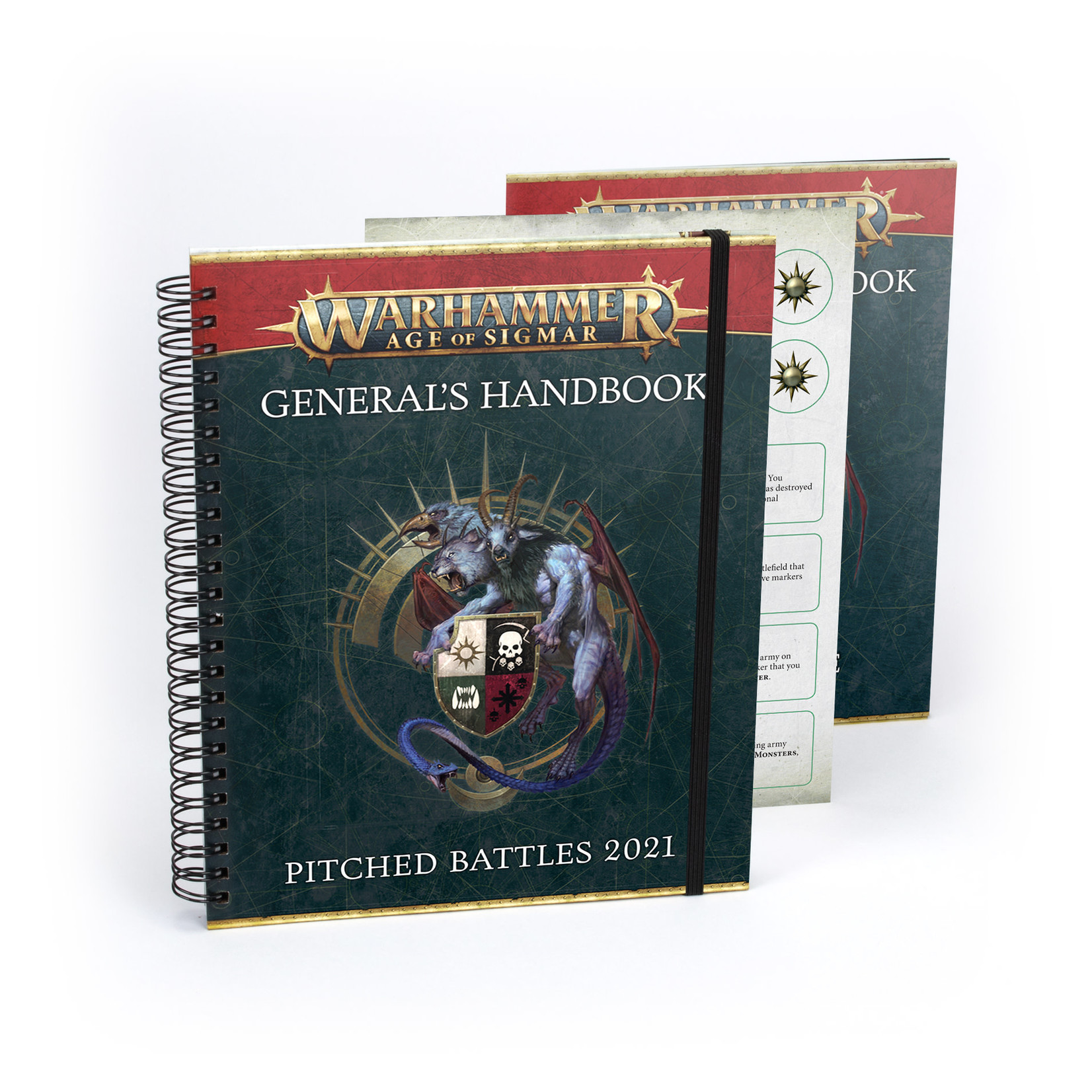 Games Workshop Warhammer Age of Sigmar: General's Handbook - Pitched Battles 2021