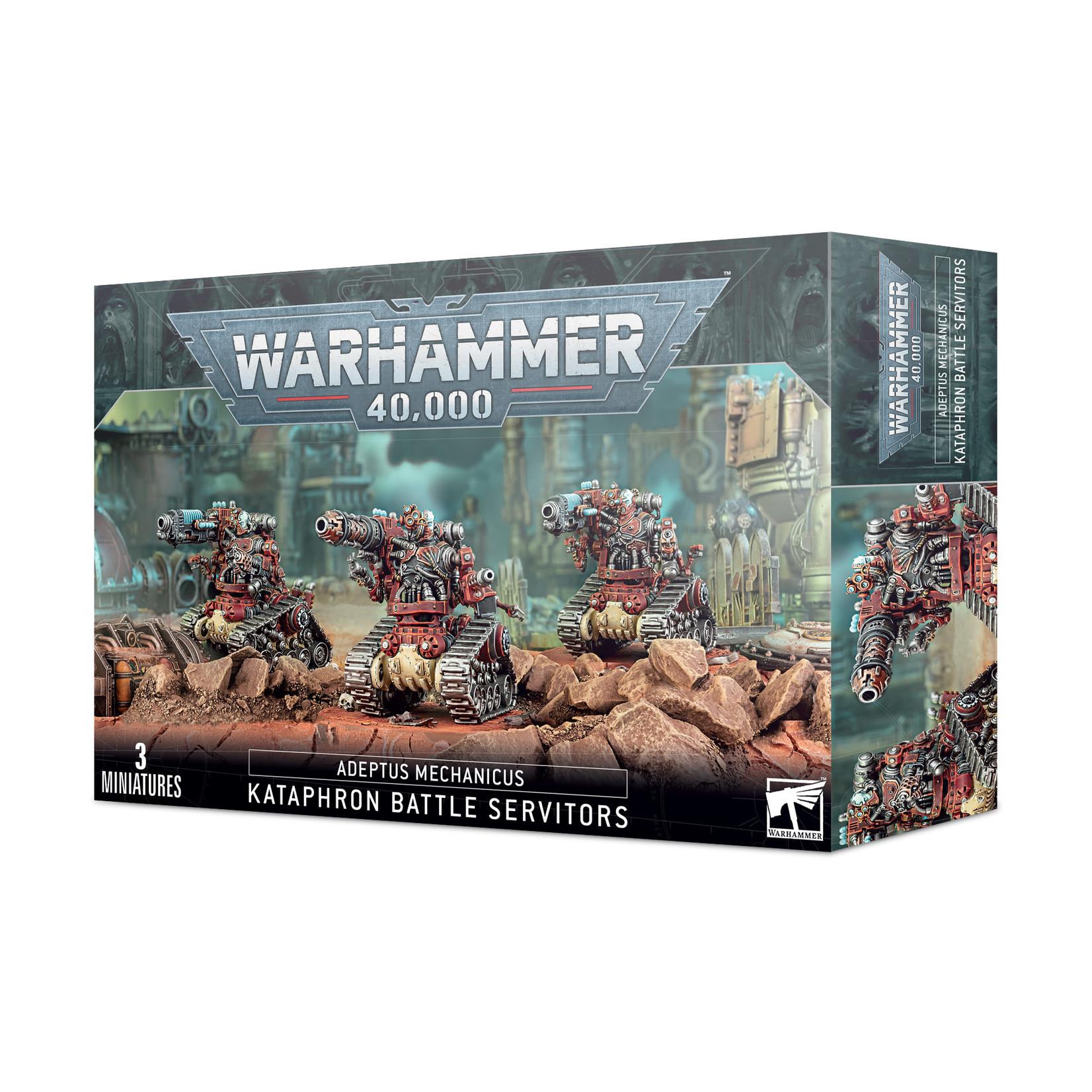 Games Workshop Warhammer 40k: Adeptus Mechanicus - Kataphron Battle Servitors