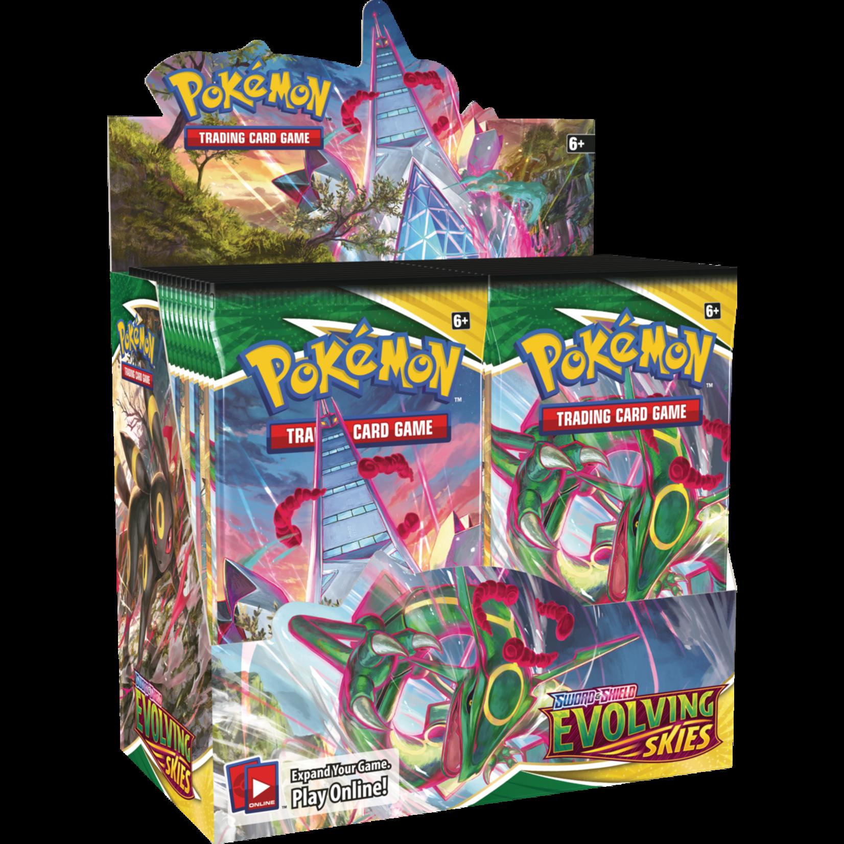 Pokemon International Pokemon Trading Card Game: Evolving Skies Booster Box