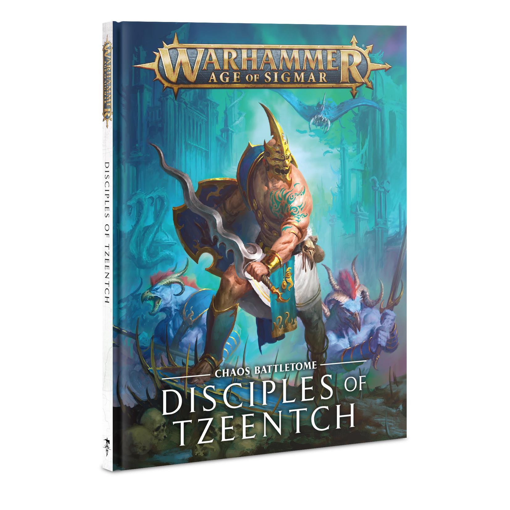 Games Workshop Warhammer Age of Sigmar: Battletome - Disciples of Tzeentch