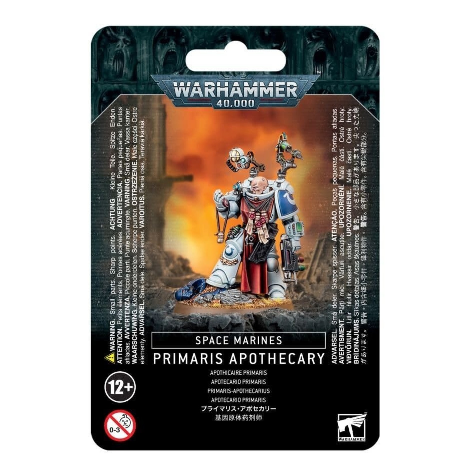 Games Workshop Warhammer 40k: Space Marine - Primaris Apothecary