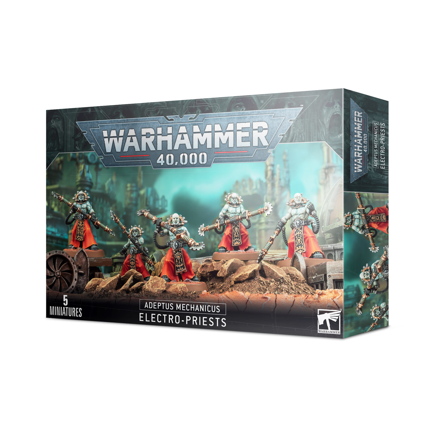 Games Workshop Warhammer 40k: Adeptus Mechanicus - Electro-Priests