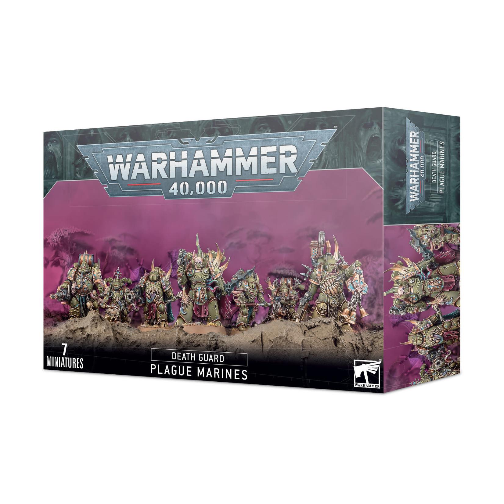 Games Workshop Warhammer 40k: Death Guard: Plague Marines
