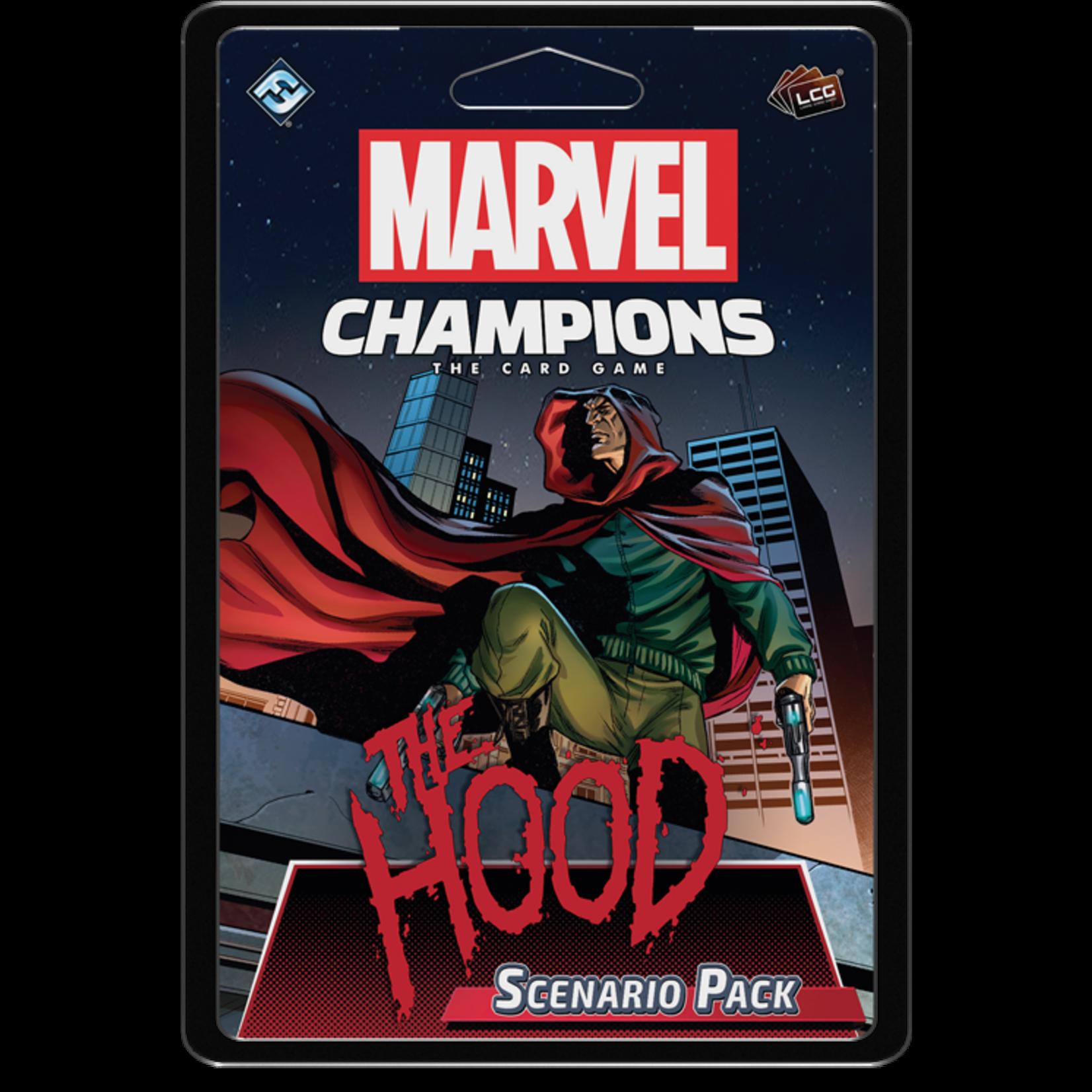 Fantasy Flight Games Marvel Champions Living Card Game: The Hood Scenario Pack (Preorder)