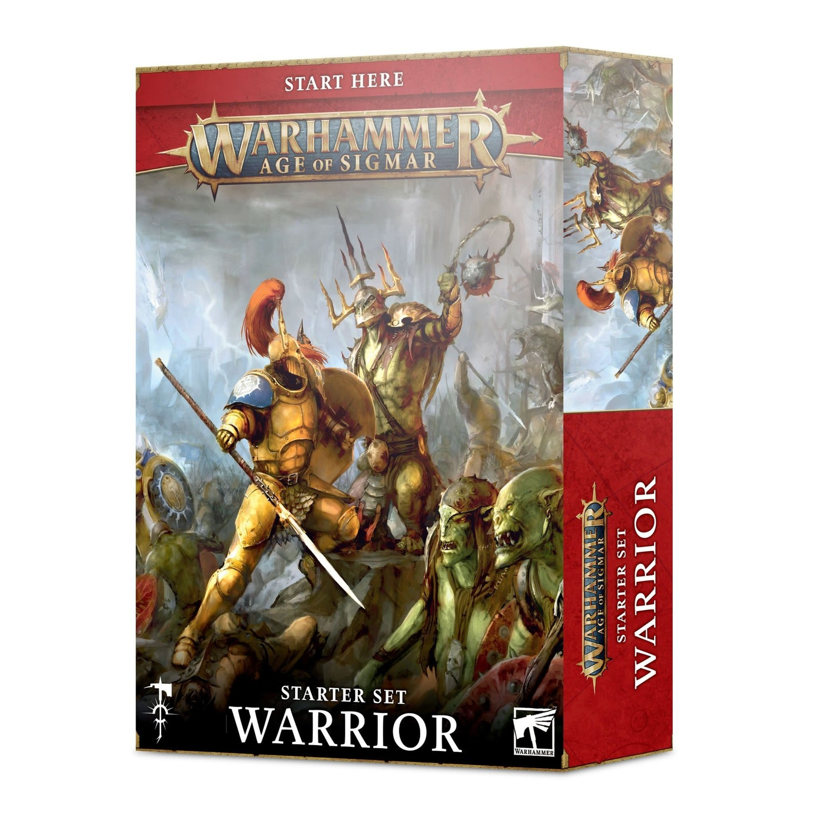 Games Workshop Warhammer Age of Sigmar: Warrior Starter Set