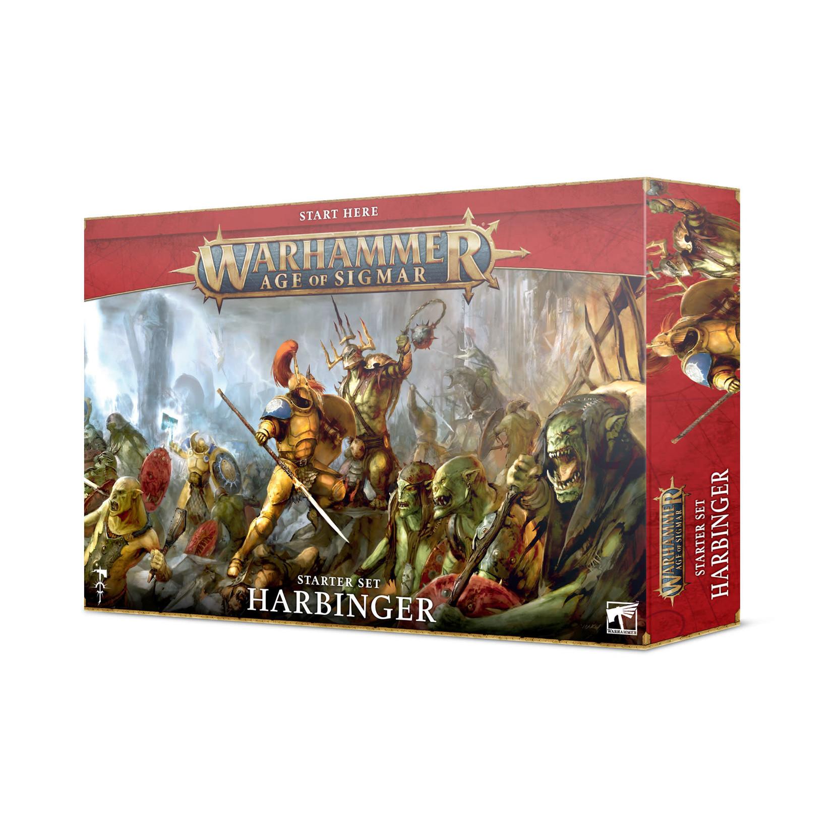 Games Workshop Warhammer Age of Sigmar: Harbinger Starter Set