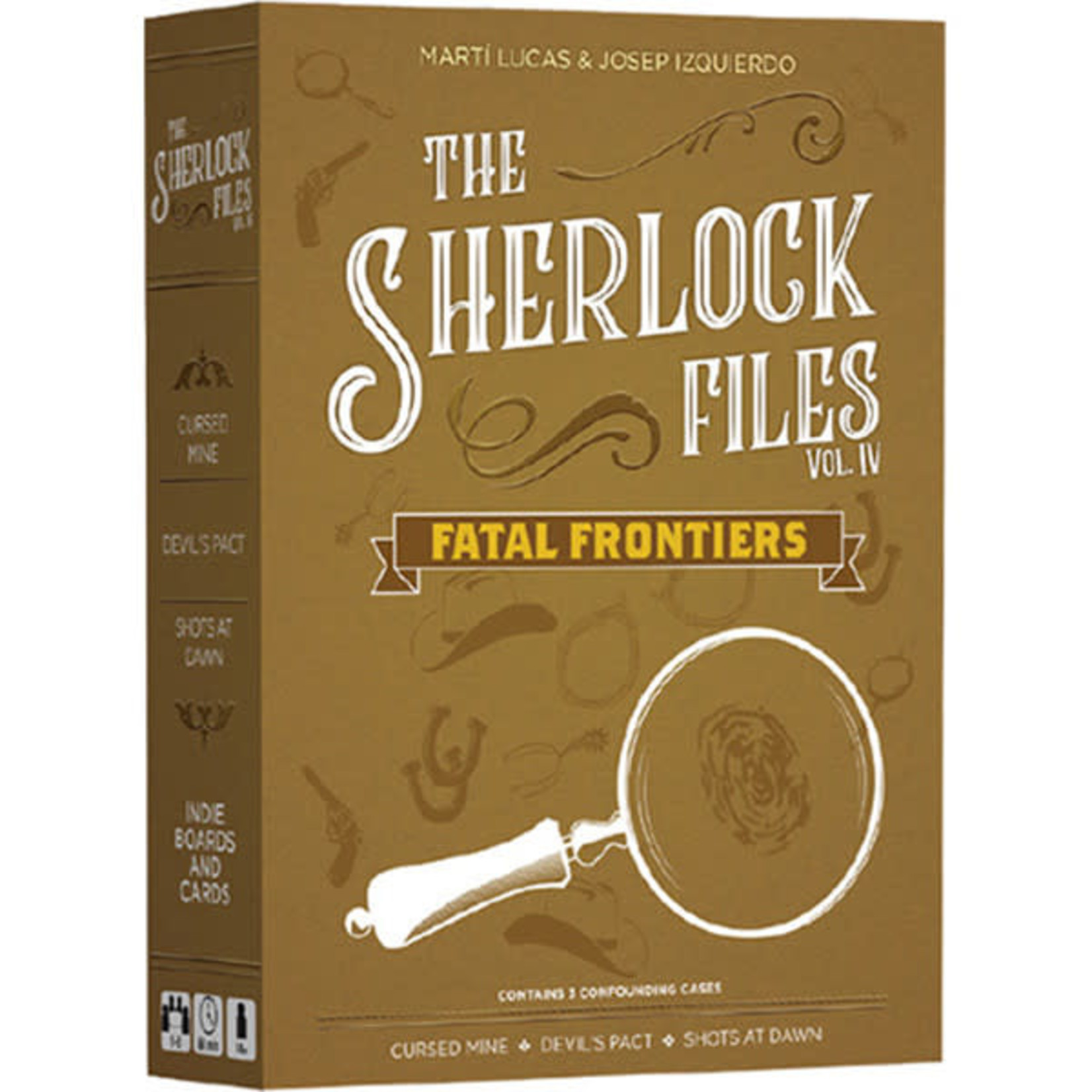 Indie Board and Cards Sherlock Files: Vol 4 Fatal Frontiers