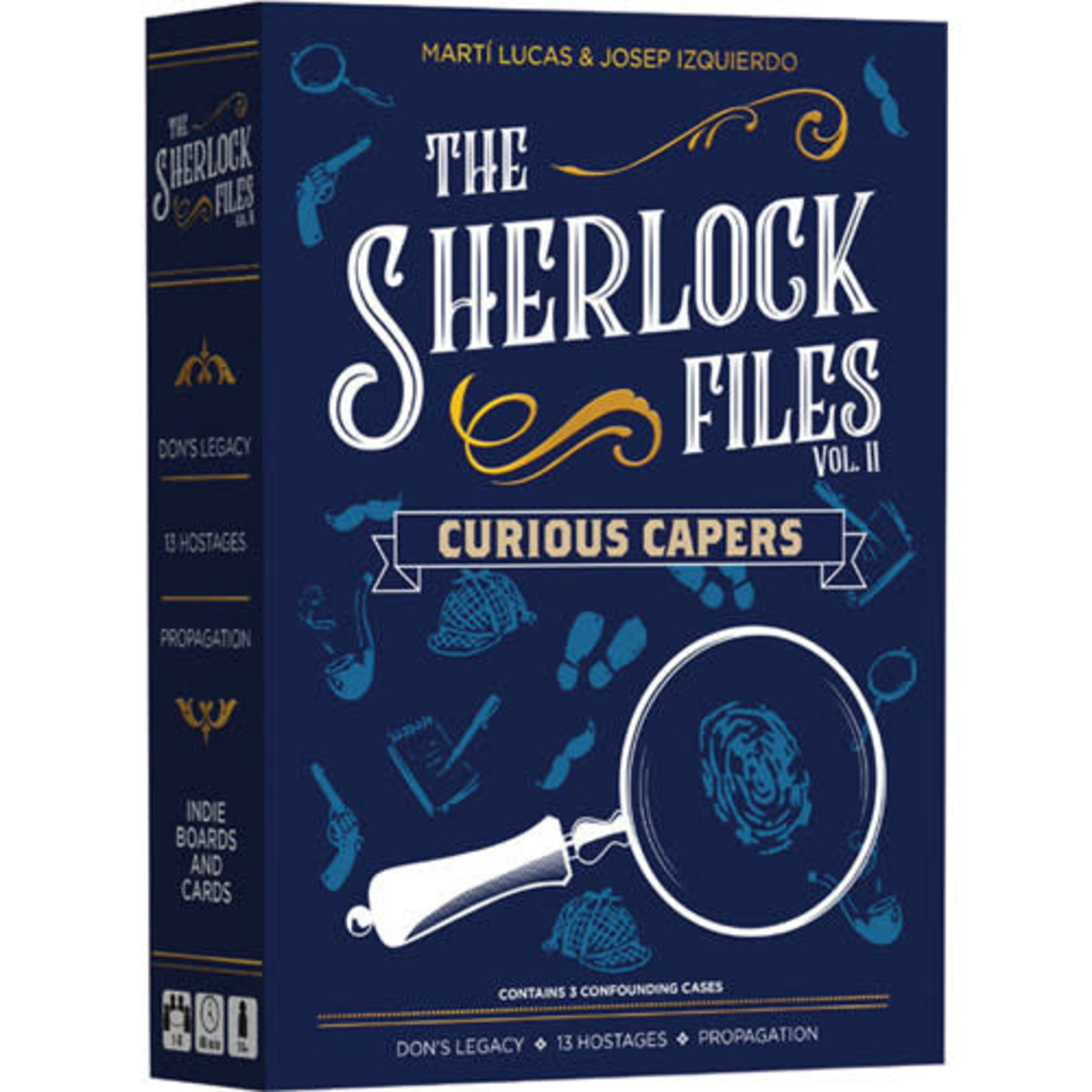 Indie Board and Cards Sherlock Files: Vol 2 Curious Capers