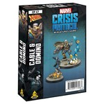 Asmodee Editions Marvel Crisis Protocol: Cable and Domino Character Pack