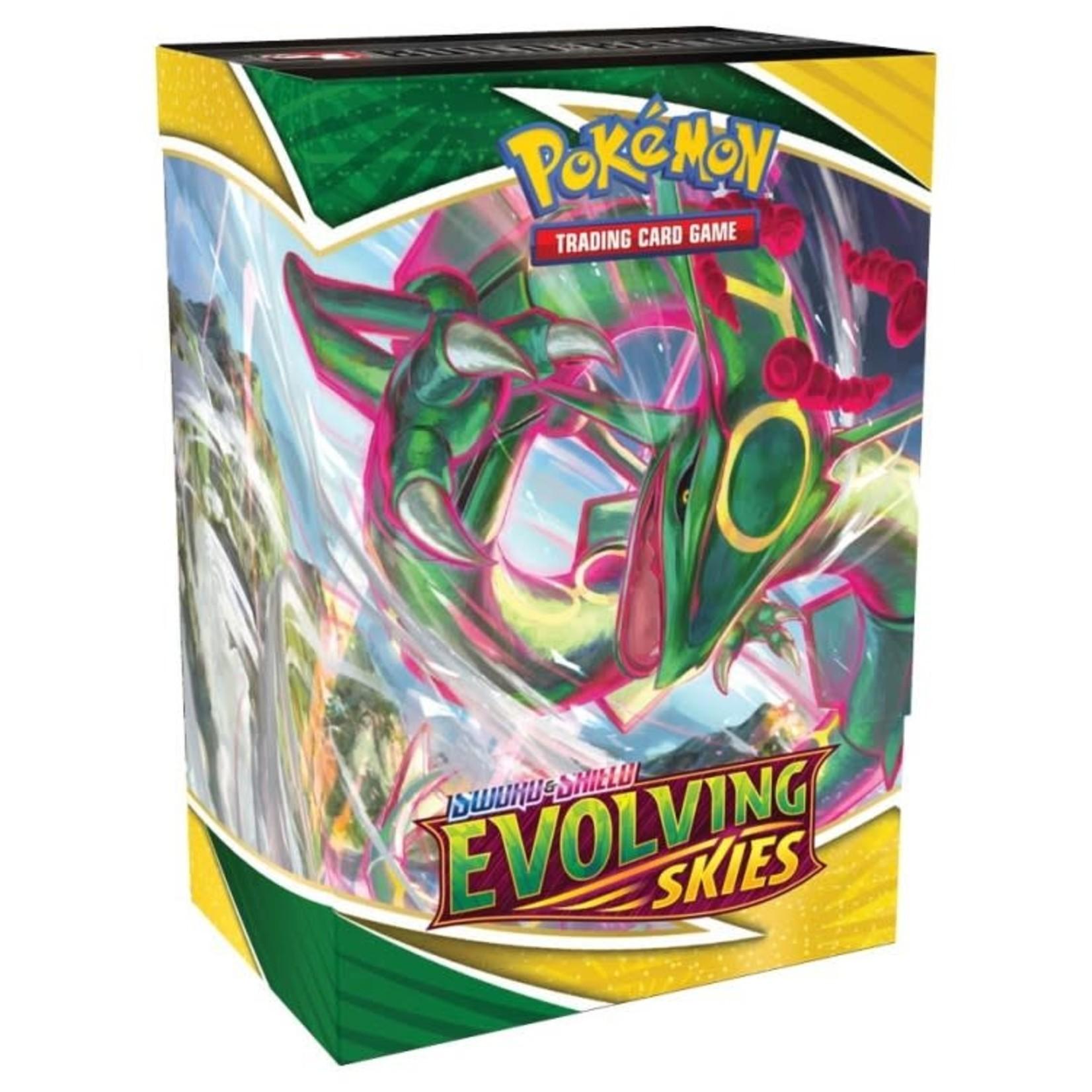 Pokemon International Pokemon Trading Card Game: Sword and Shield Evolving Skies Build & Battle Box
