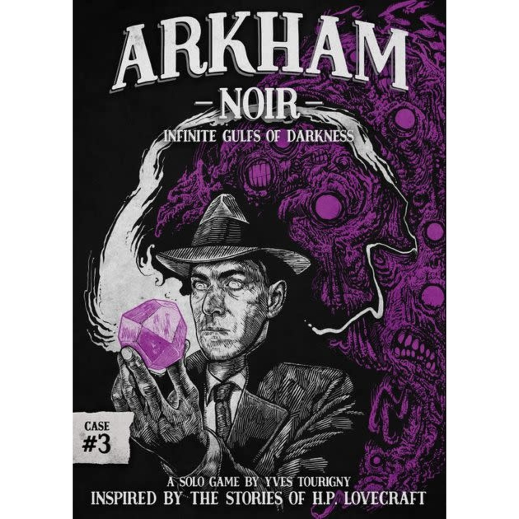 Asmodee Editions Arkham Noir: Case #3 - Infinite Gulfs of Darkness